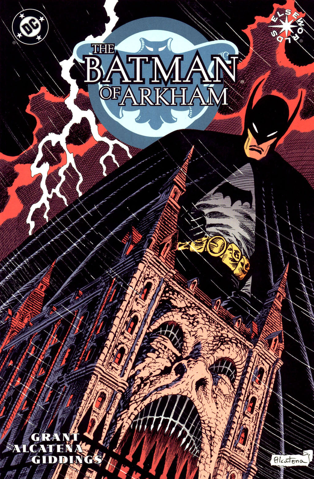 The Batman of Arkham issue Full - Page 1