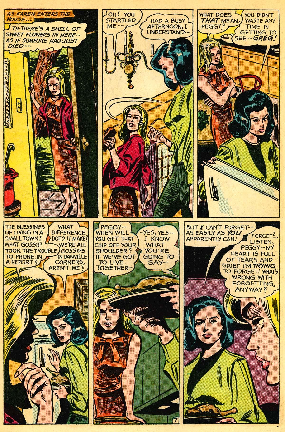 Read online Secret Hearts comic -  Issue #111 - 26