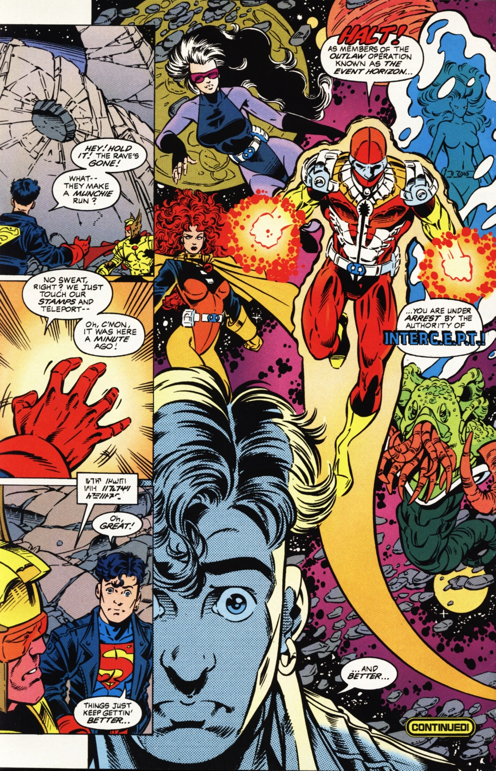 Read online Superboy & The Ravers comic -  Issue #1 - 23