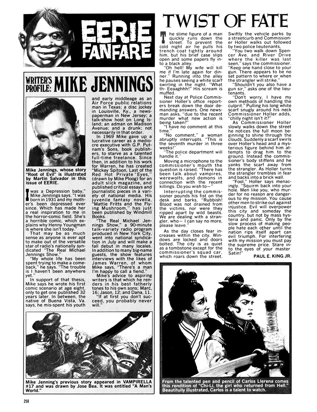 Read online Eerie Archives comic -  Issue # TPB 9 - 259