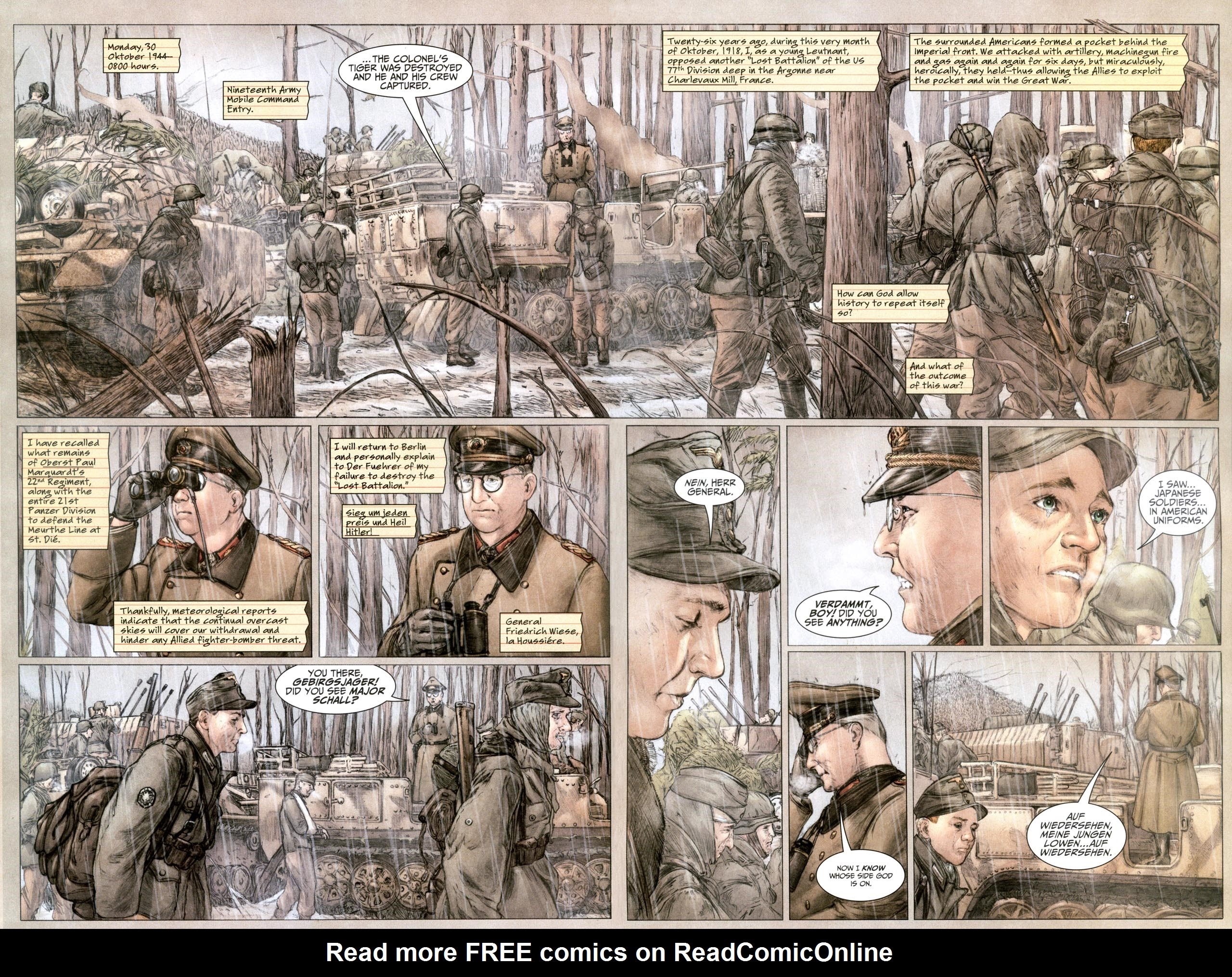 Read online Sgt. Rock: The Lost Battalion comic -  Issue #6 - 13