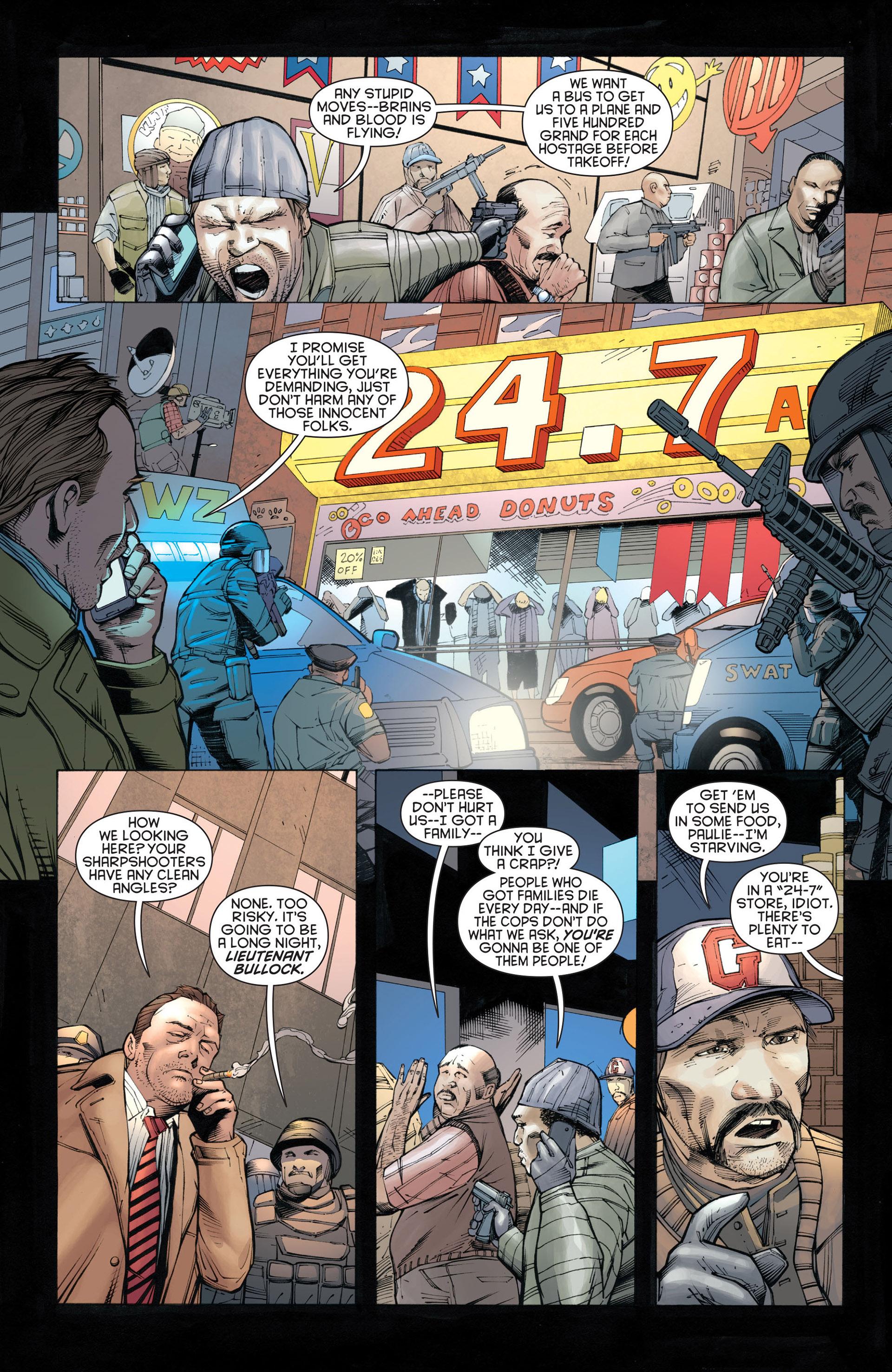 Read online Batman and Robin (2011) comic -  Issue #21 - Batman and Batgirl - 11