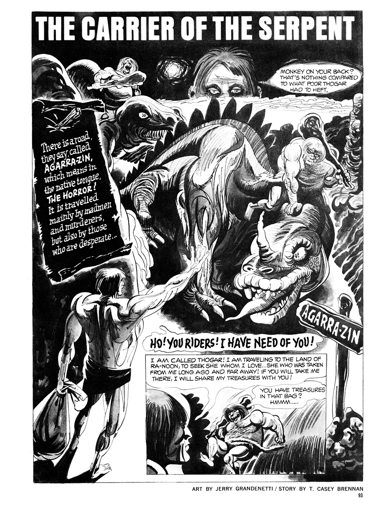 Read online Eerie Archives comic -  Issue # TPB 8 - 94