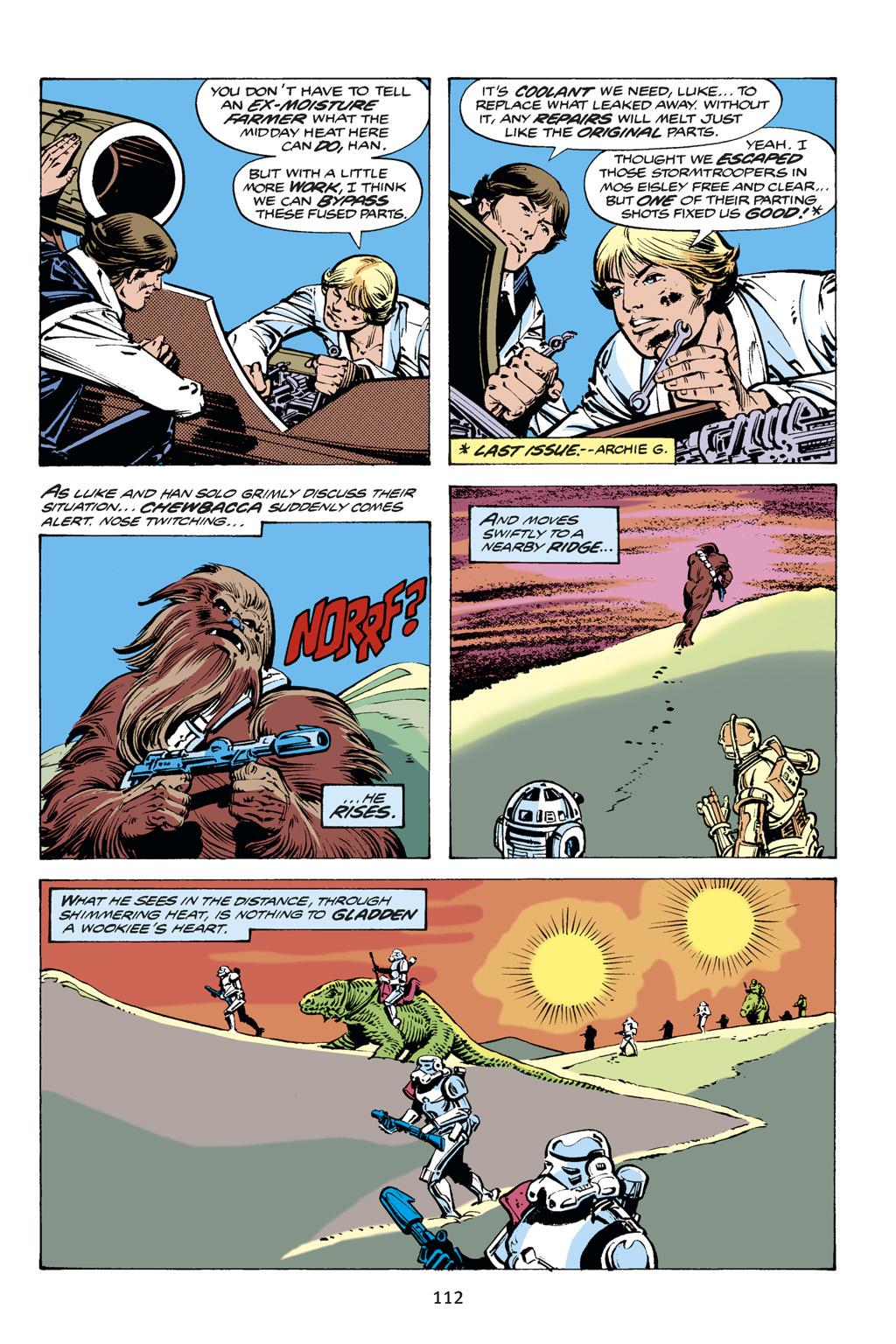 Read online Star Wars Omnibus comic -  Issue # Vol. 14 - 112