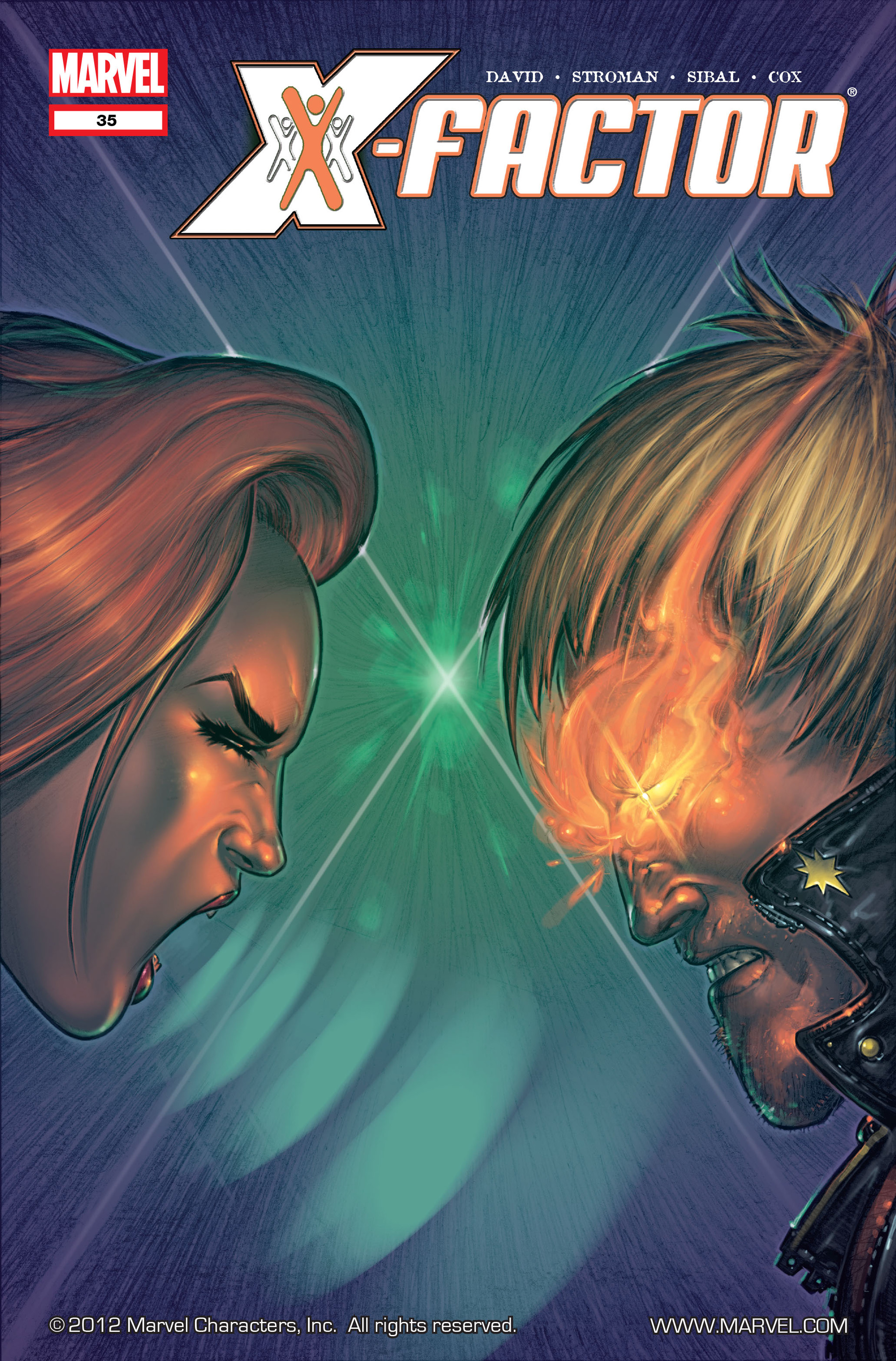 Read online X-Factor (2006) comic -  Issue #35 - 1