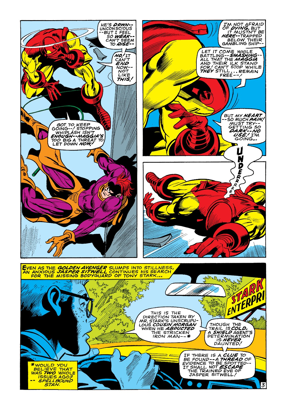 Read online Marvel Masterworks: The Invincible Iron Man comic -  Issue # TPB 4 (Part 3) - 3