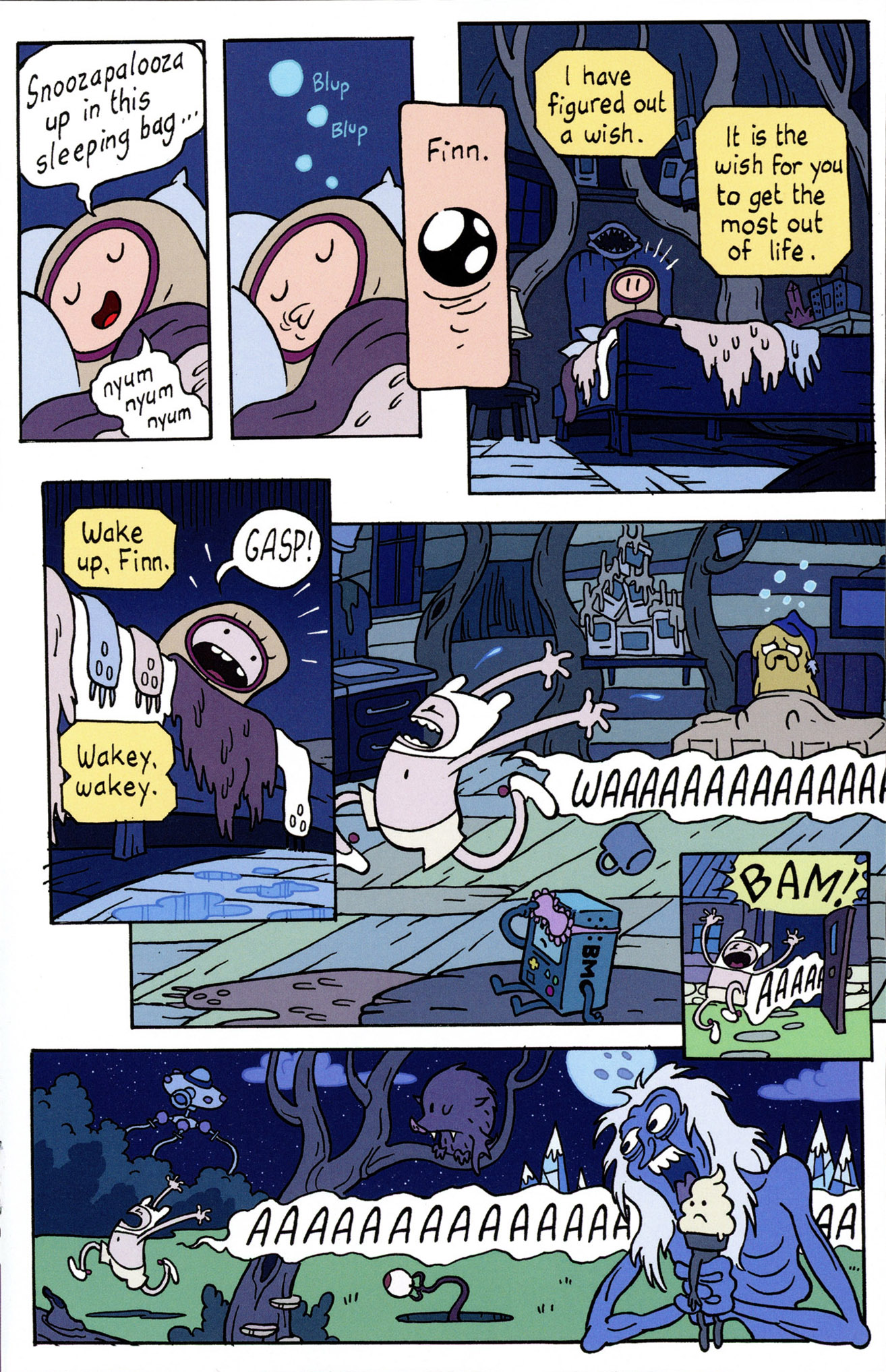 Read online Adventure Time Comics comic -  Issue #4 - 19