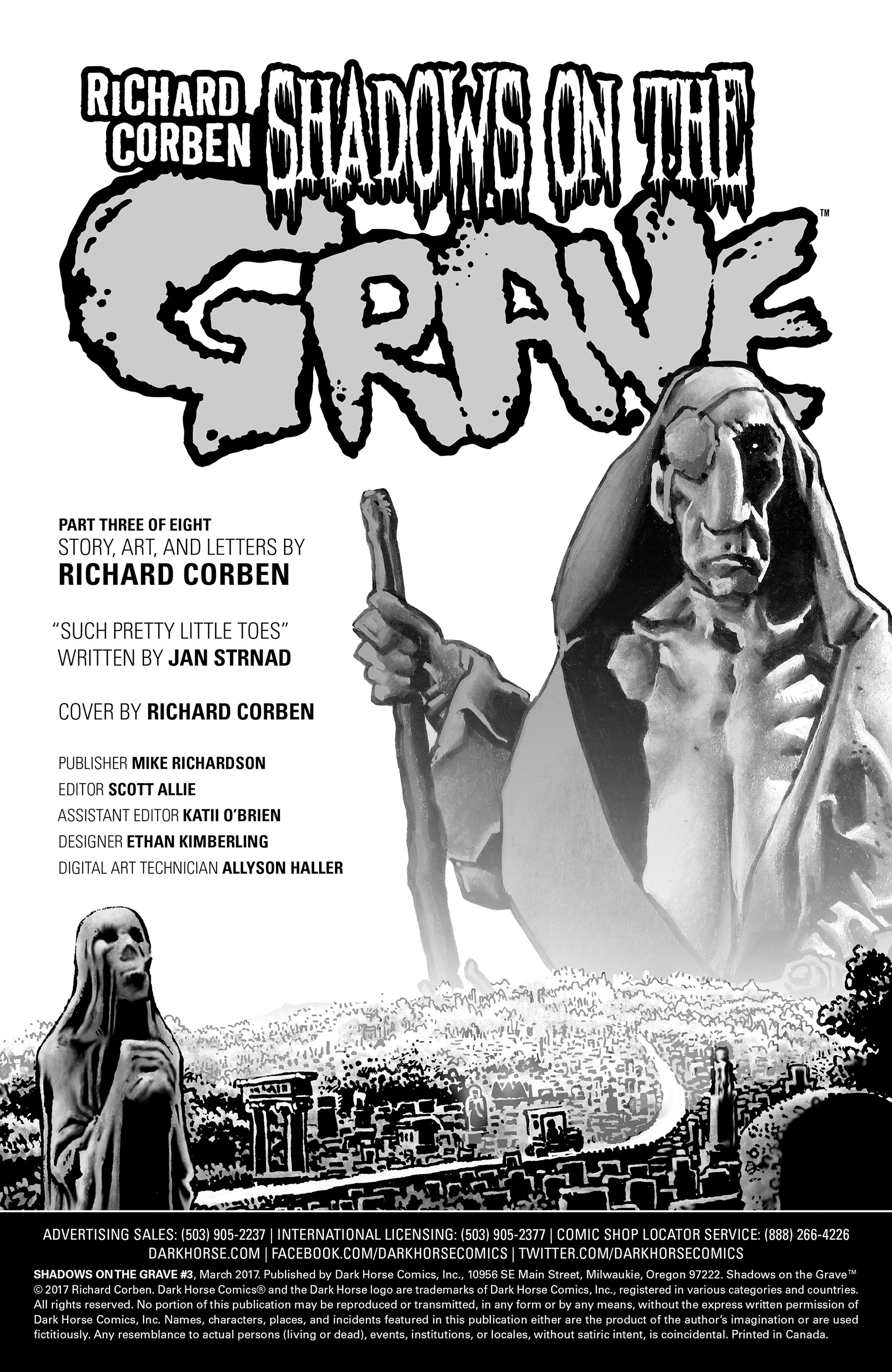 Read online Shadows on the Grave comic -  Issue #3 - 35