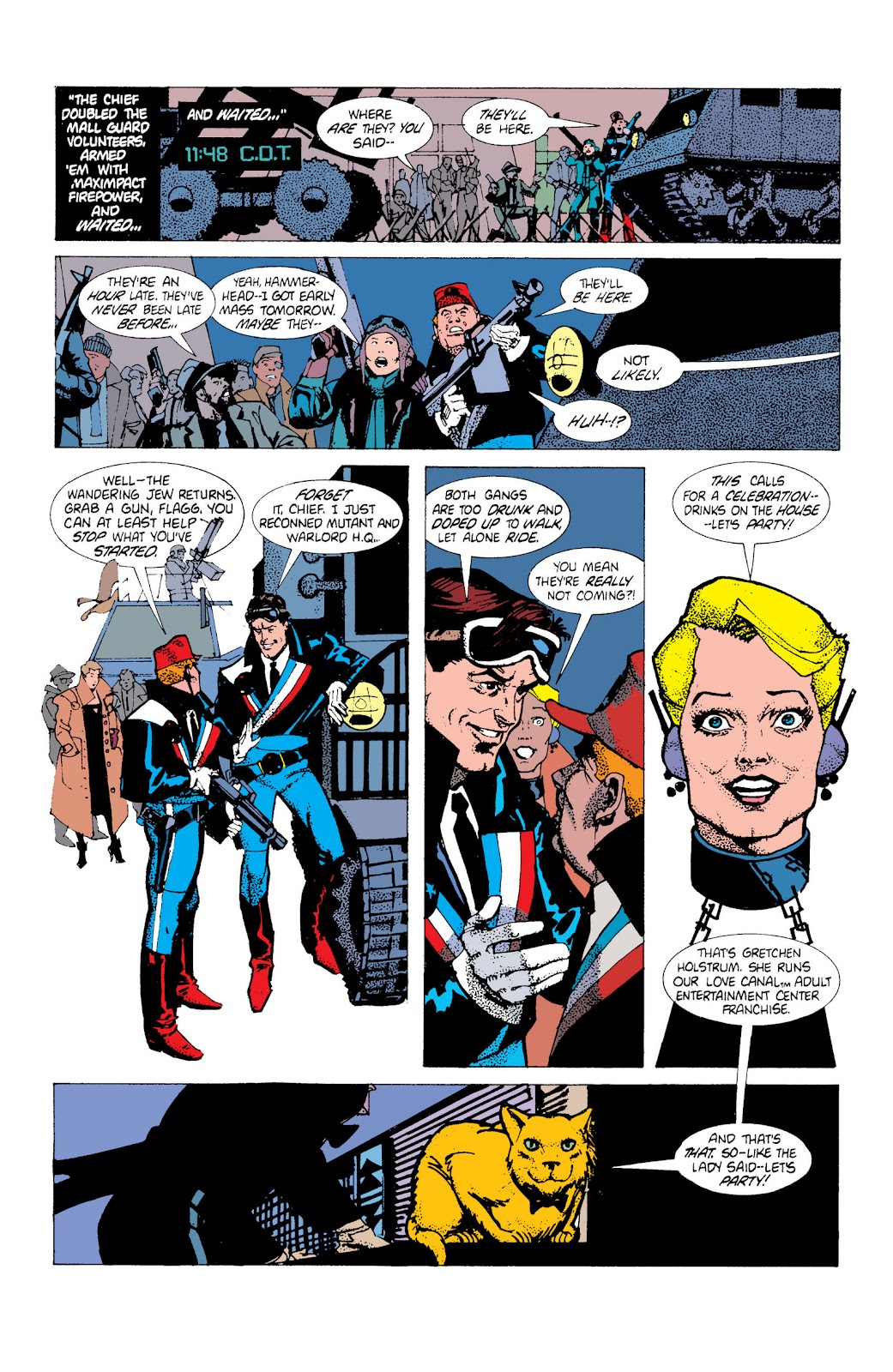 American Flagg! issue Definitive Collection (Part 1) - Page 55