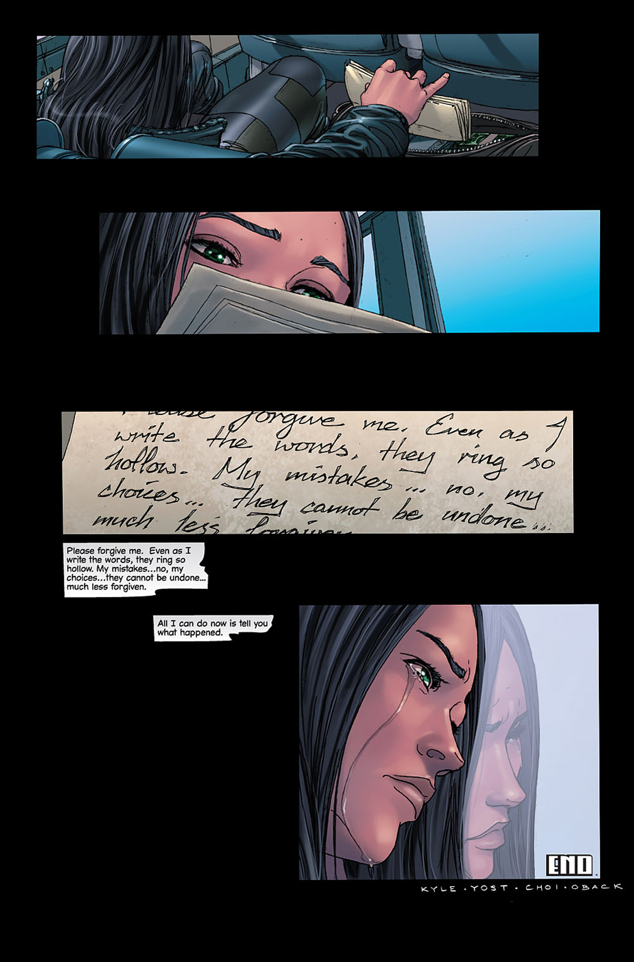 Read online X-23: Target X comic -  Issue #6 - 28