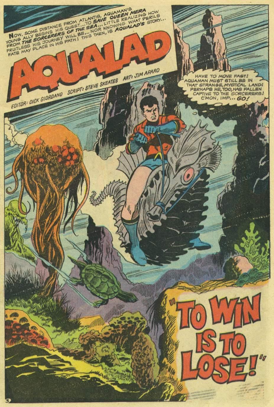 Read online Aquaman (1962) comic -  Issue #43 - 5