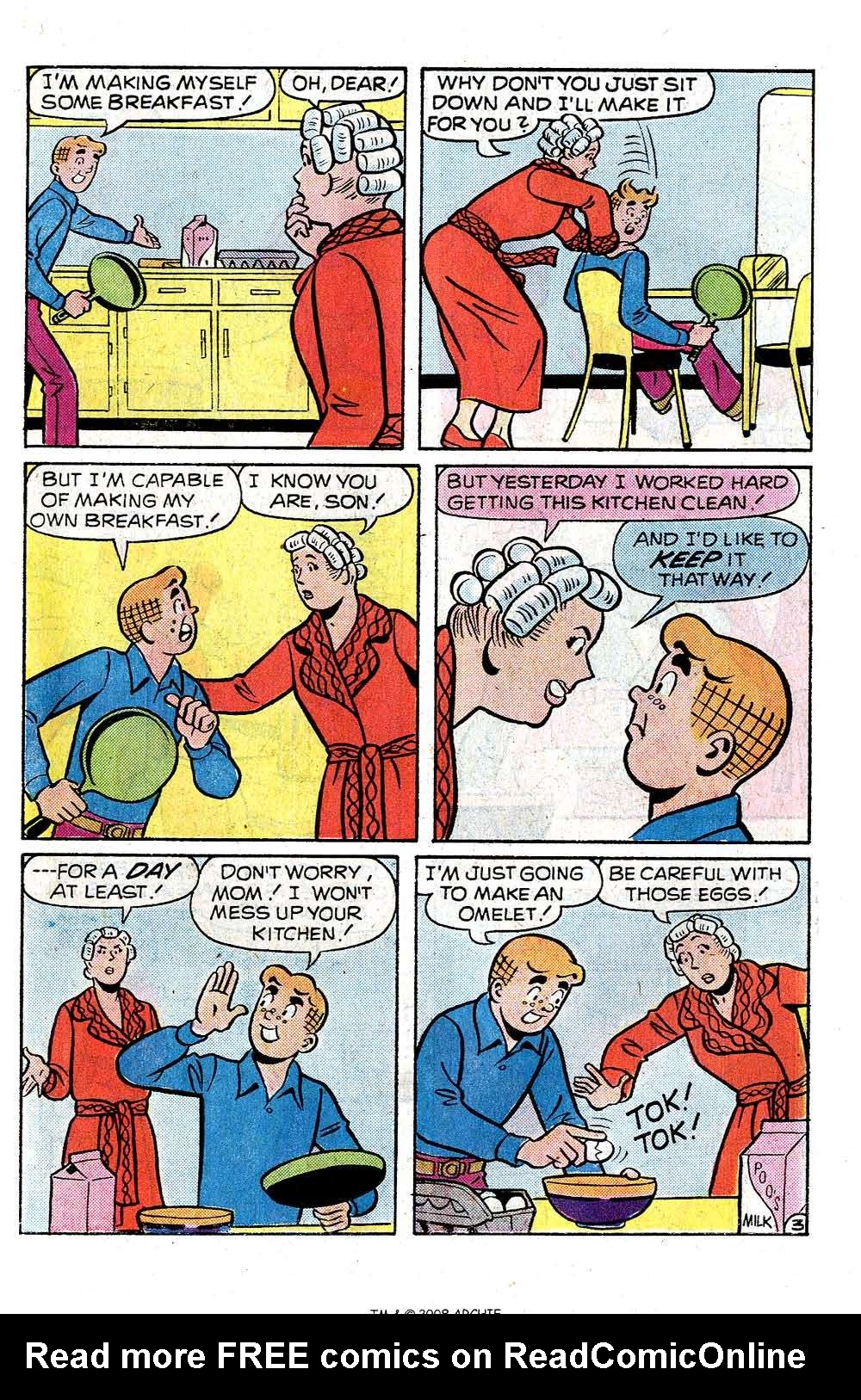 Read online Archie (1960) comic -  Issue #251 - 31