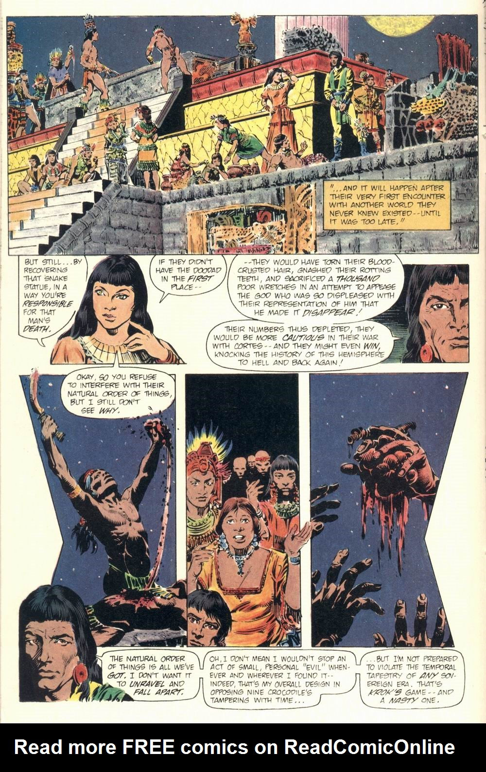 Read online Aztec Ace comic -  Issue #1 - 22