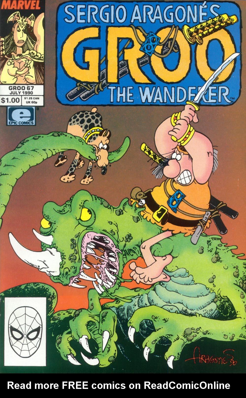 Read online Sergio Aragonés Groo the Wanderer comic -  Issue #67 - 1