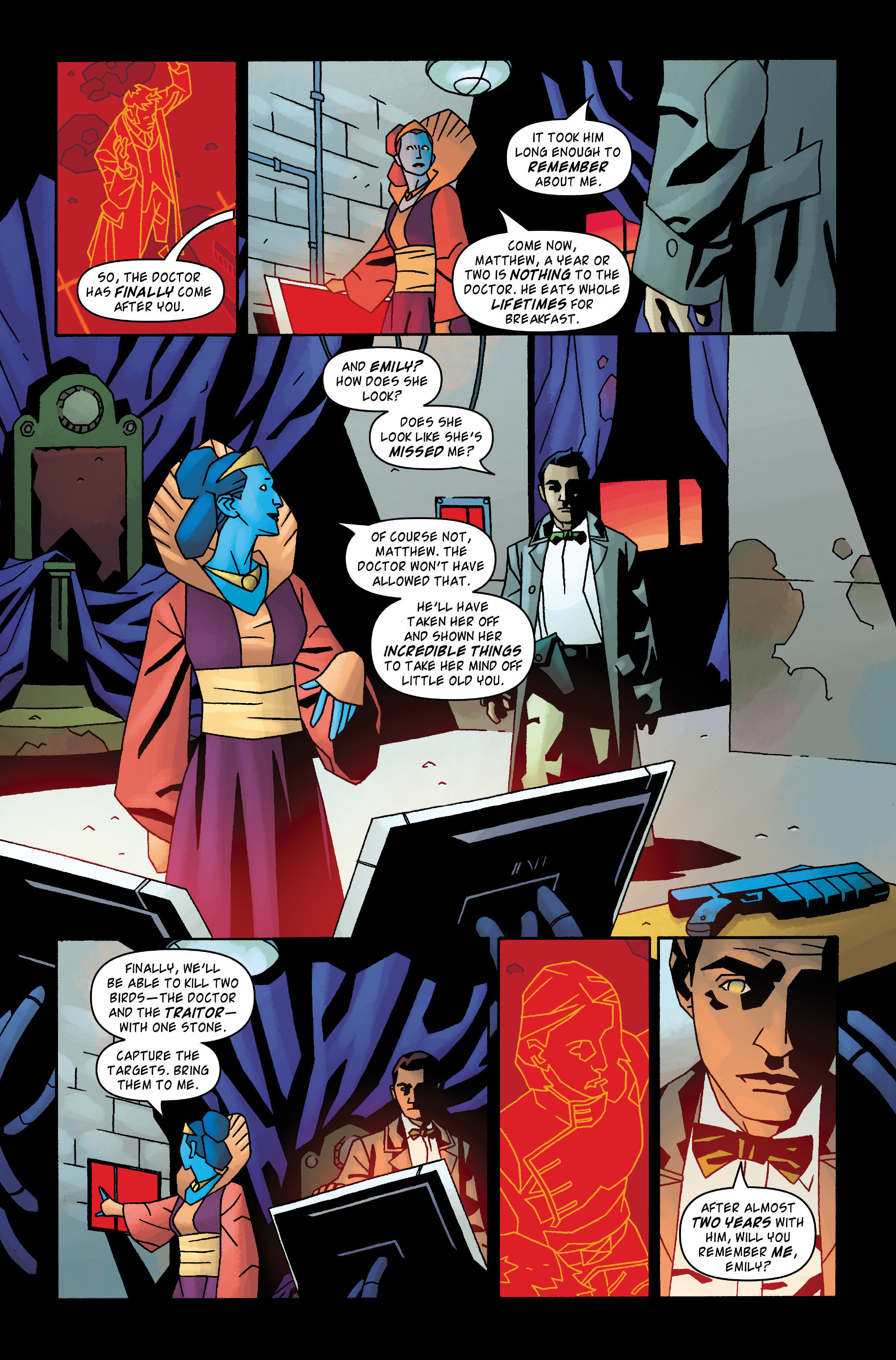 Read online Doctor Who: The Tenth Doctor Archives comic -  Issue #31 - 12