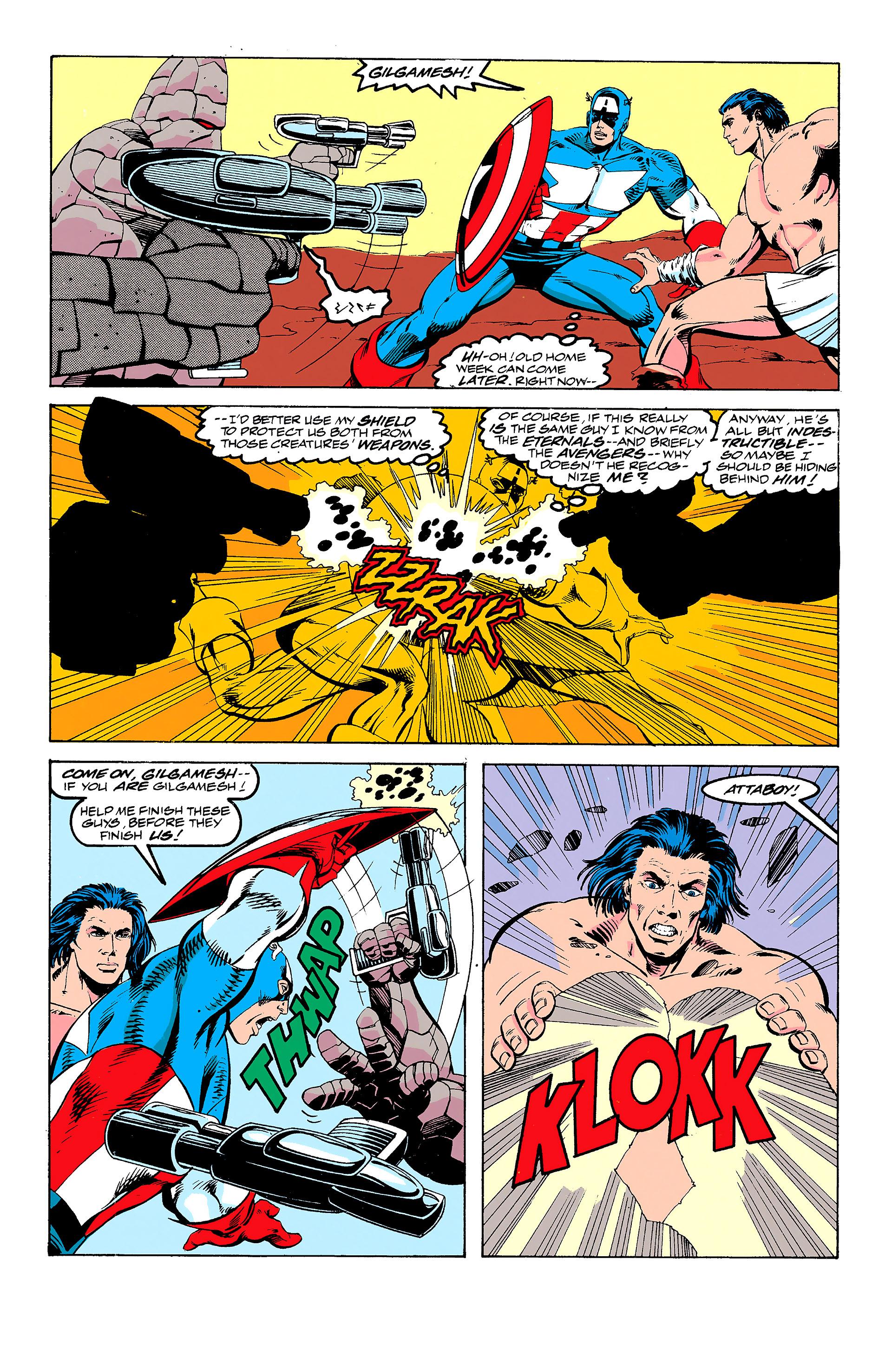 Read online Captain America (1968) comic -  Issue # _Annual 11 - 13
