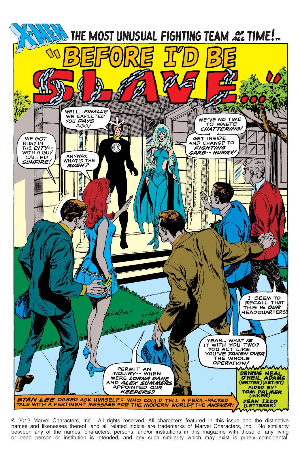 Uncanny X-Men (1963) issue 65 - Page 2