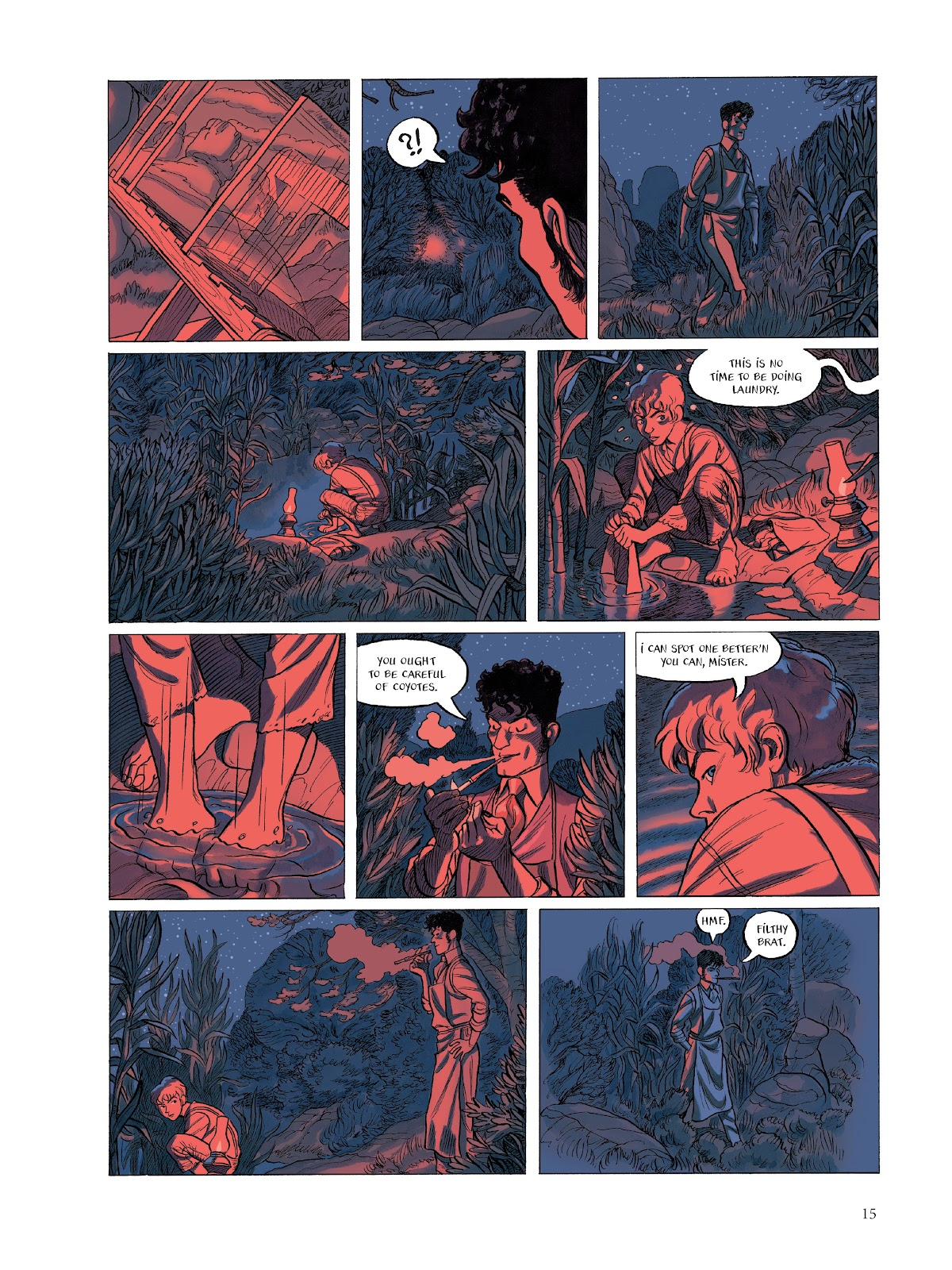 Read online The Smell of Starving Boys comic -  Issue # TPB - 16