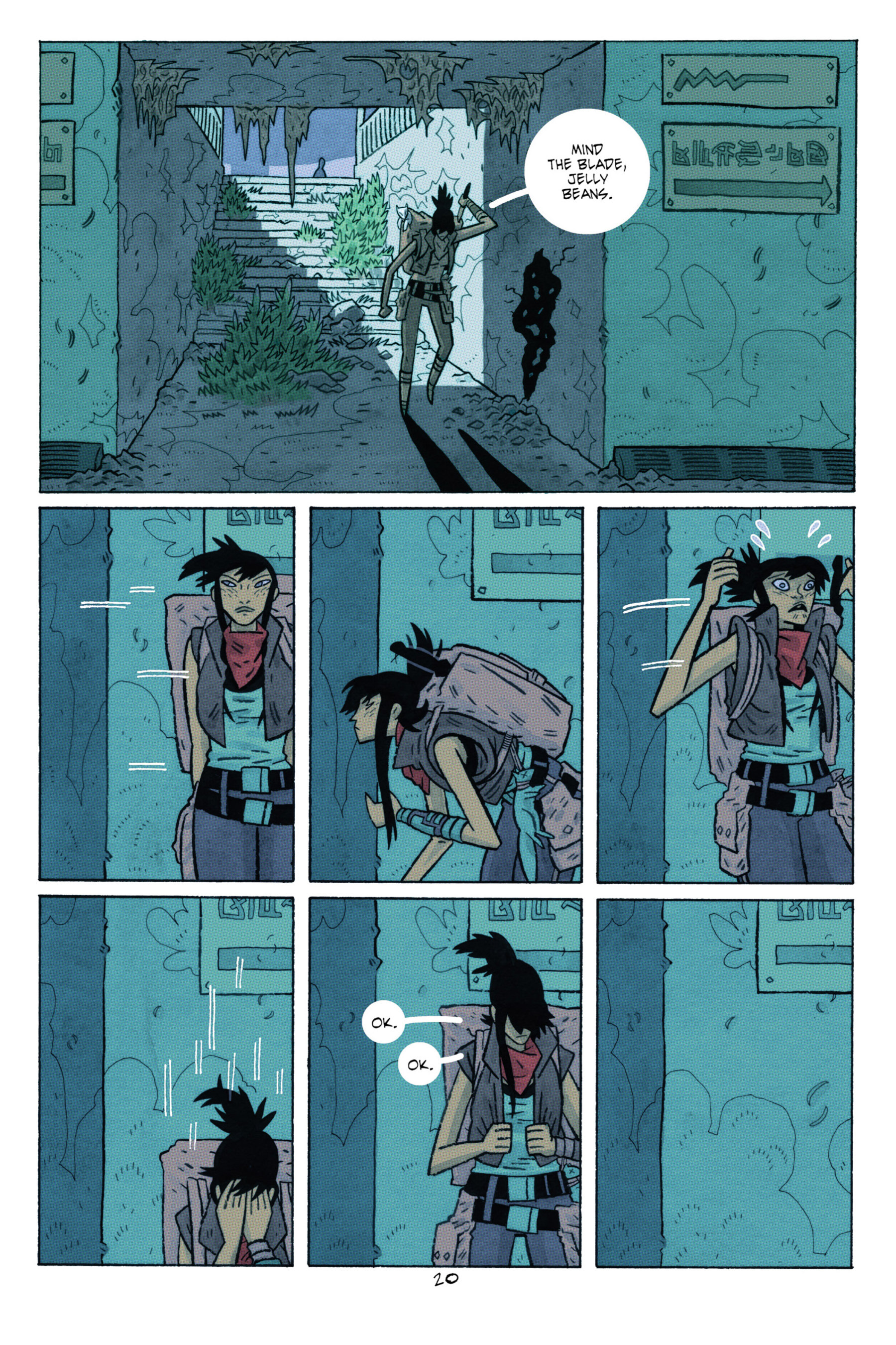Read online ApocalyptiGirl: An Aria for the End Times comic -  Issue #ApocalyptiGirl: An Aria for the End Times Full - 28