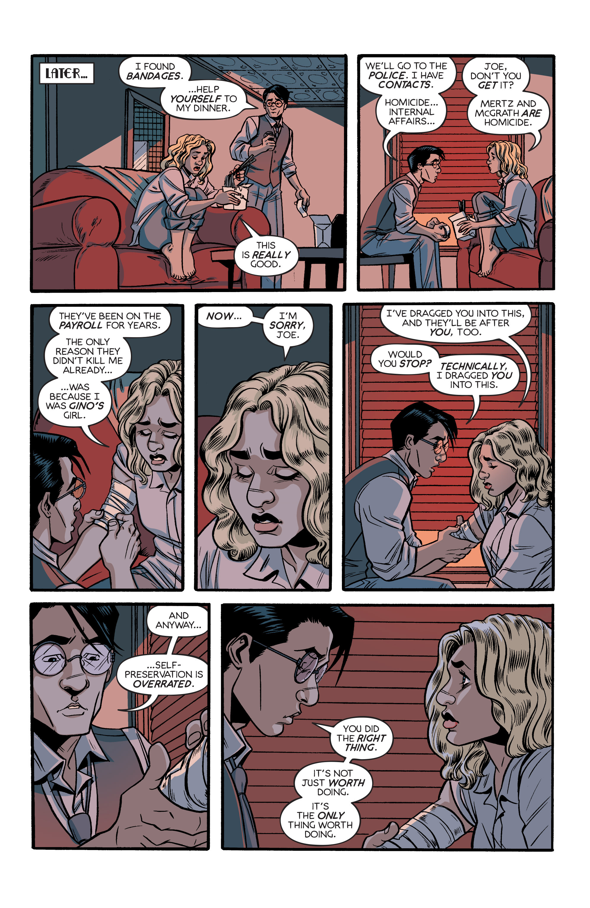 Read online Angel City comic -  Issue #5 - 14