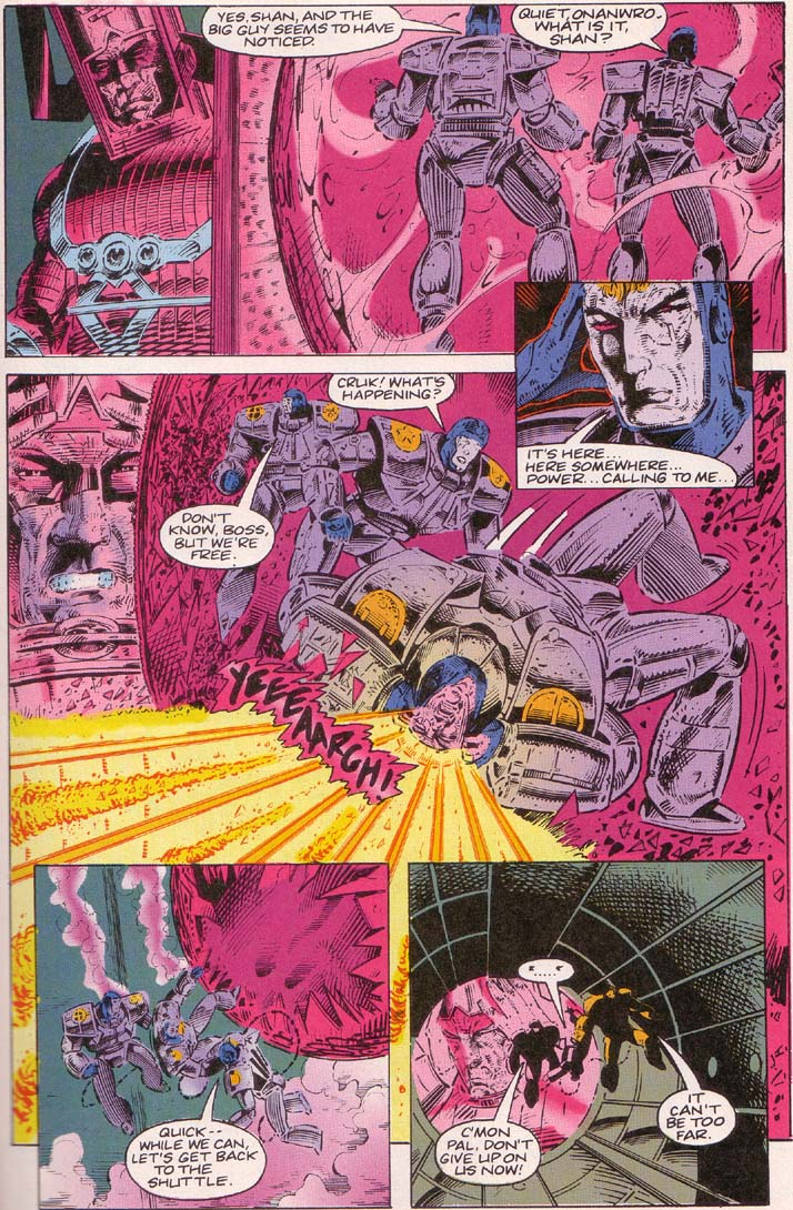 Read online Cyberspace 3000 comic -  Issue #2 - 10
