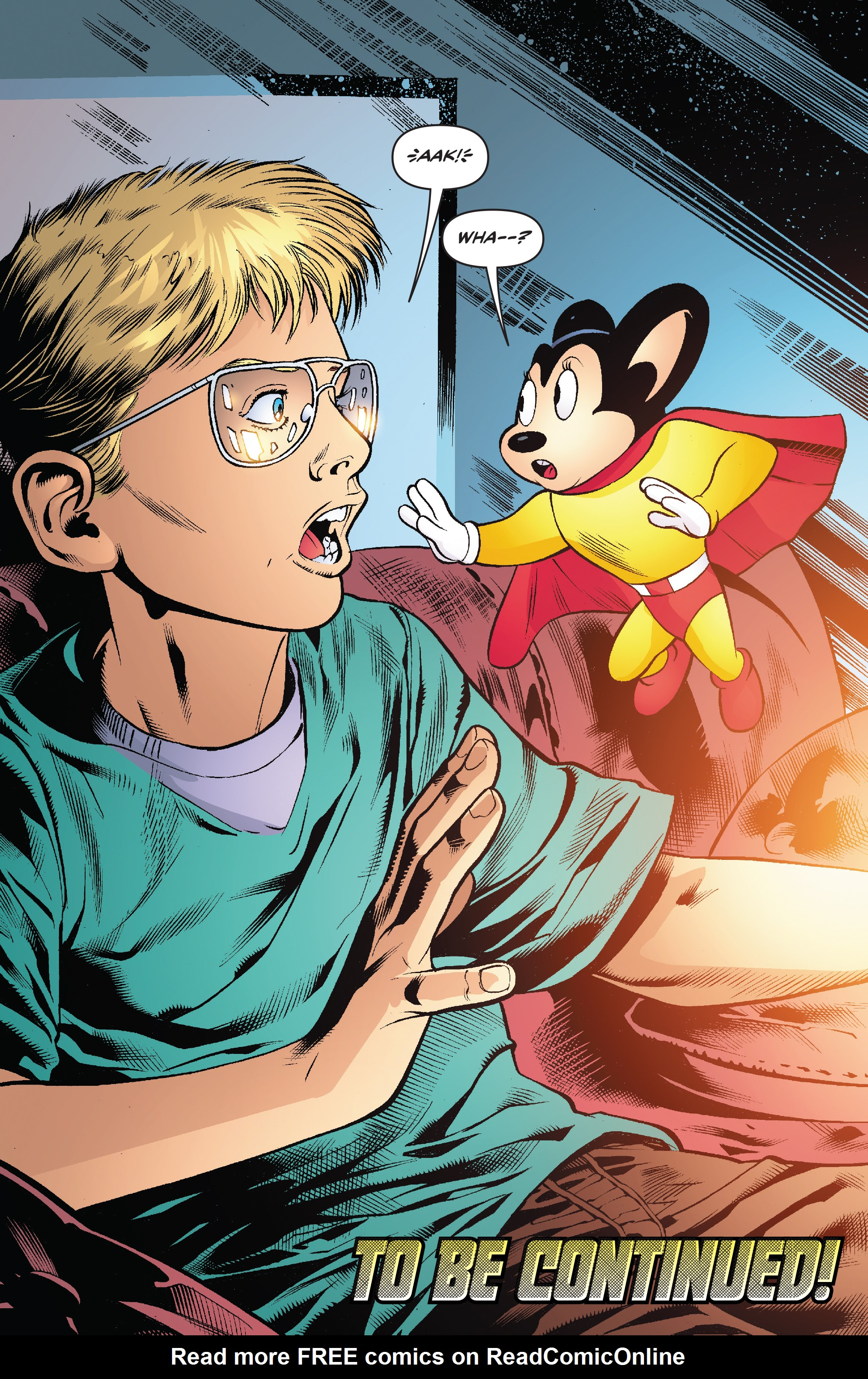Read online Mighty Mouse (2017) comic -  Issue #1 - 25