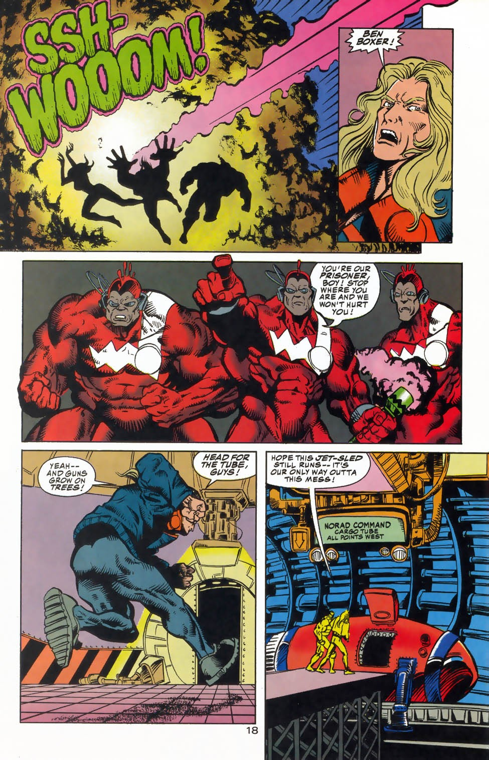 Read online Kamandi: At Earth's End comic -  Issue #4 - 22