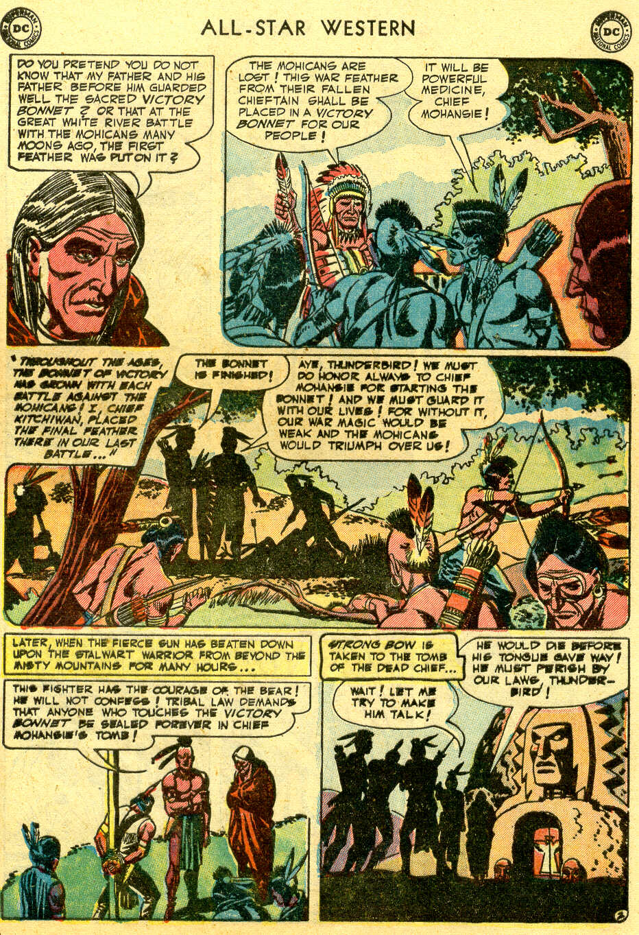 Read online All-Star Western (1951) comic -  Issue #64 - 29