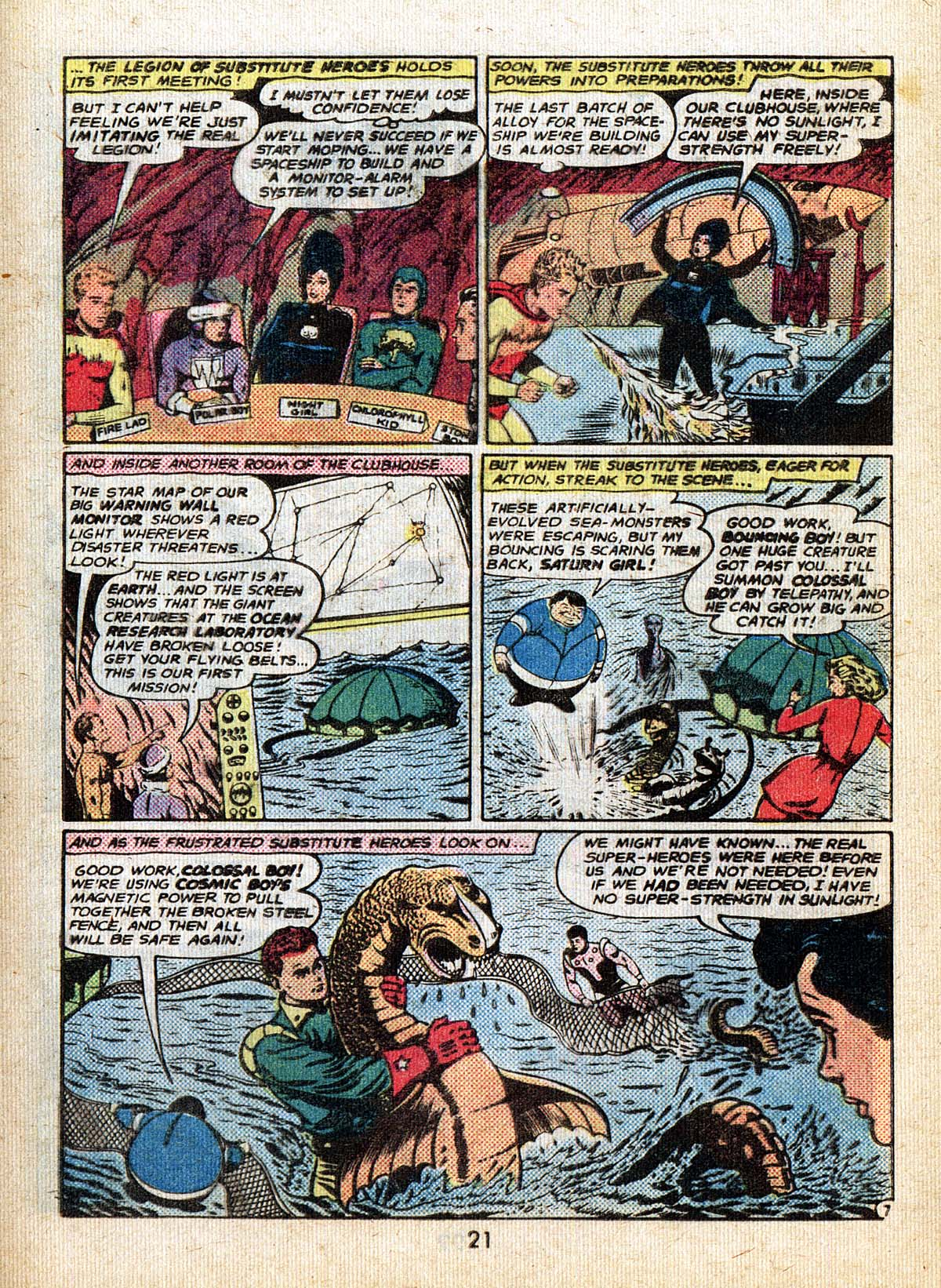Read online Adventure Comics (1938) comic -  Issue #500 - 21