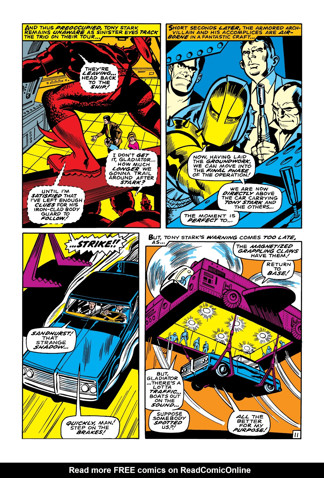 Read online Marvel Masterworks: The Invincible Iron Man comic -  Issue # TPB 5 (Part 2) - 23