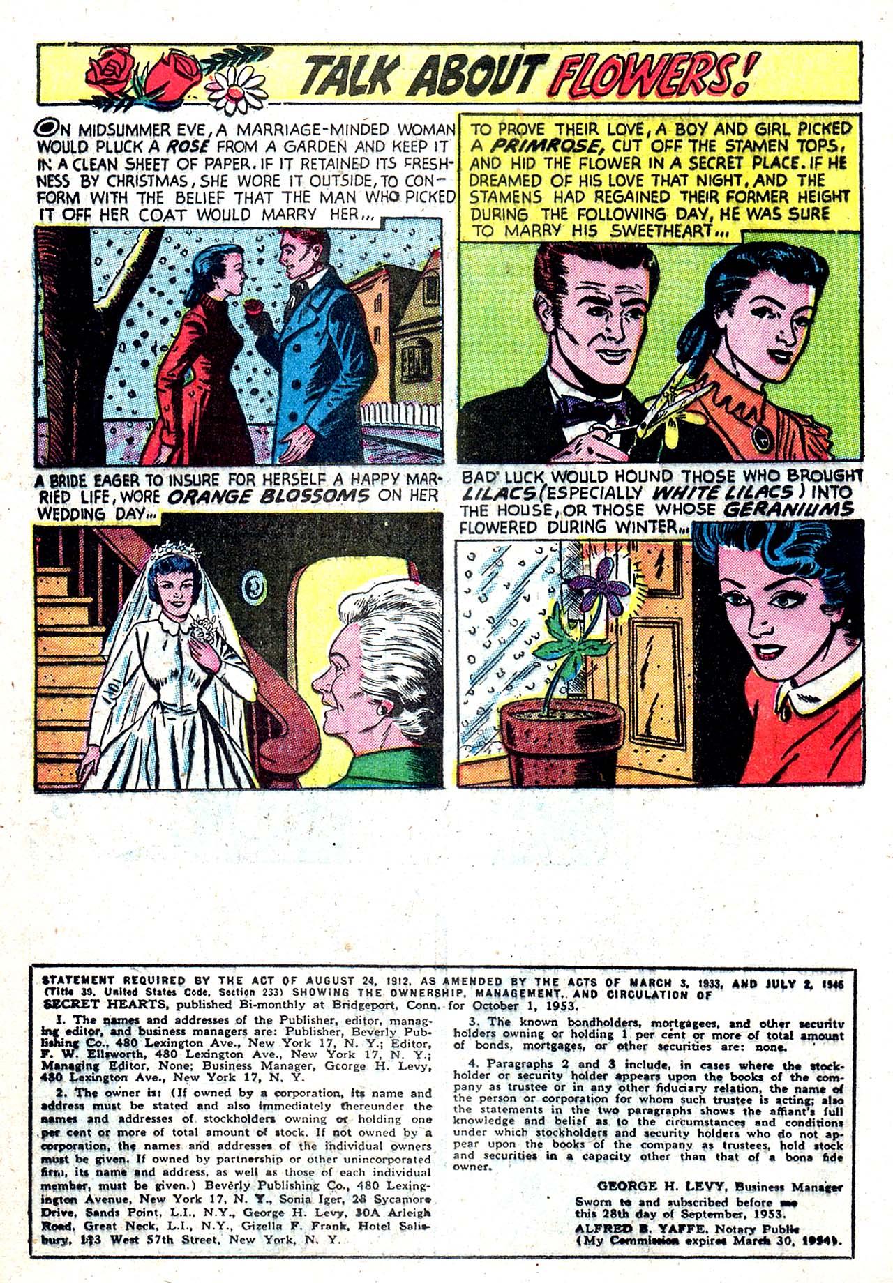 Read online Secret Hearts comic -  Issue #20 - 16