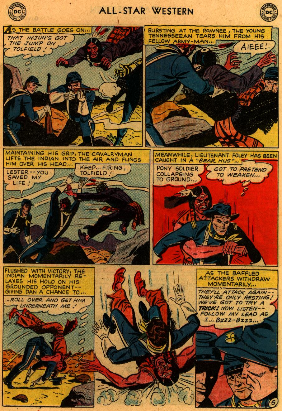 Read online All-Star Western (1951) comic -  Issue #102 - 19