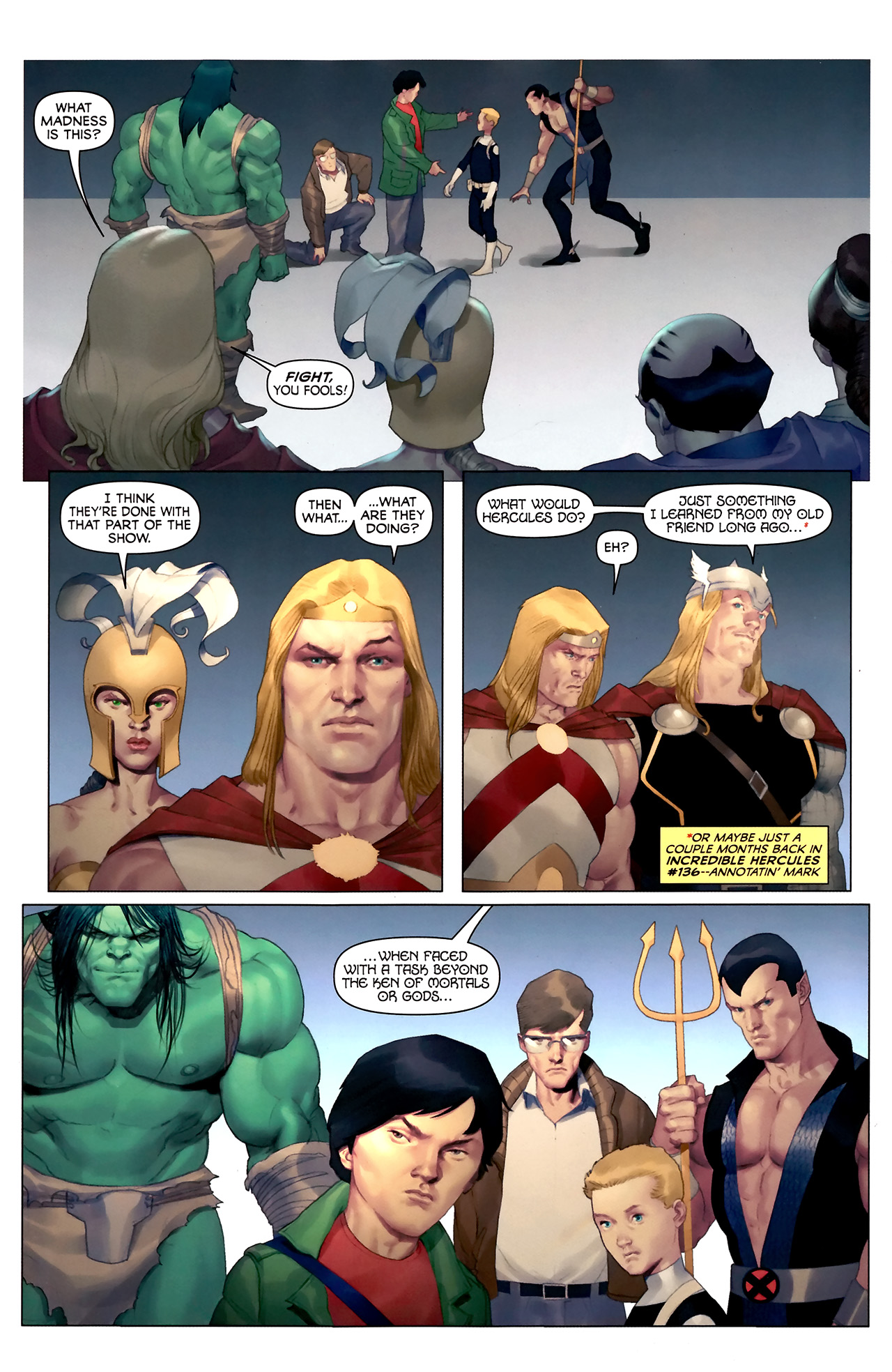 Read online Hercules: Fall of an Avenger comic -  Issue #2 - 15