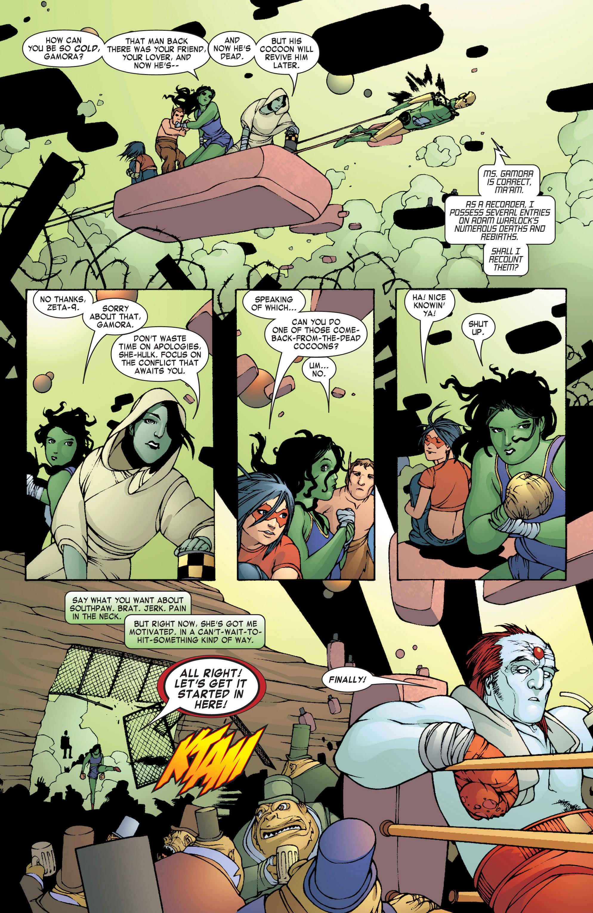 Read online She-Hulk (2004) comic -  Issue #8 - 9