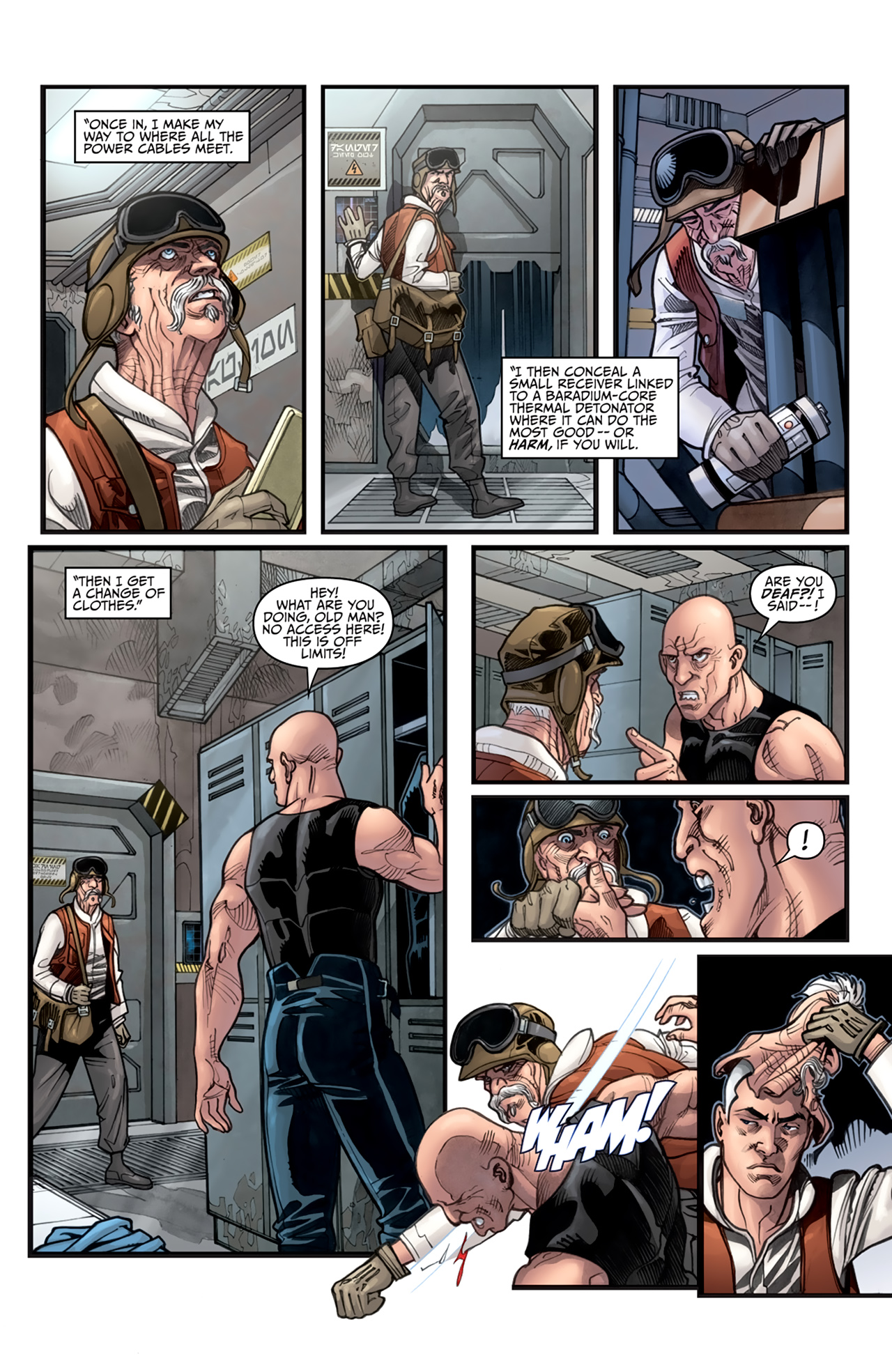 Read online Star Wars: Agent Of The Empire - Hard Targets comic -  Issue #3 - 15