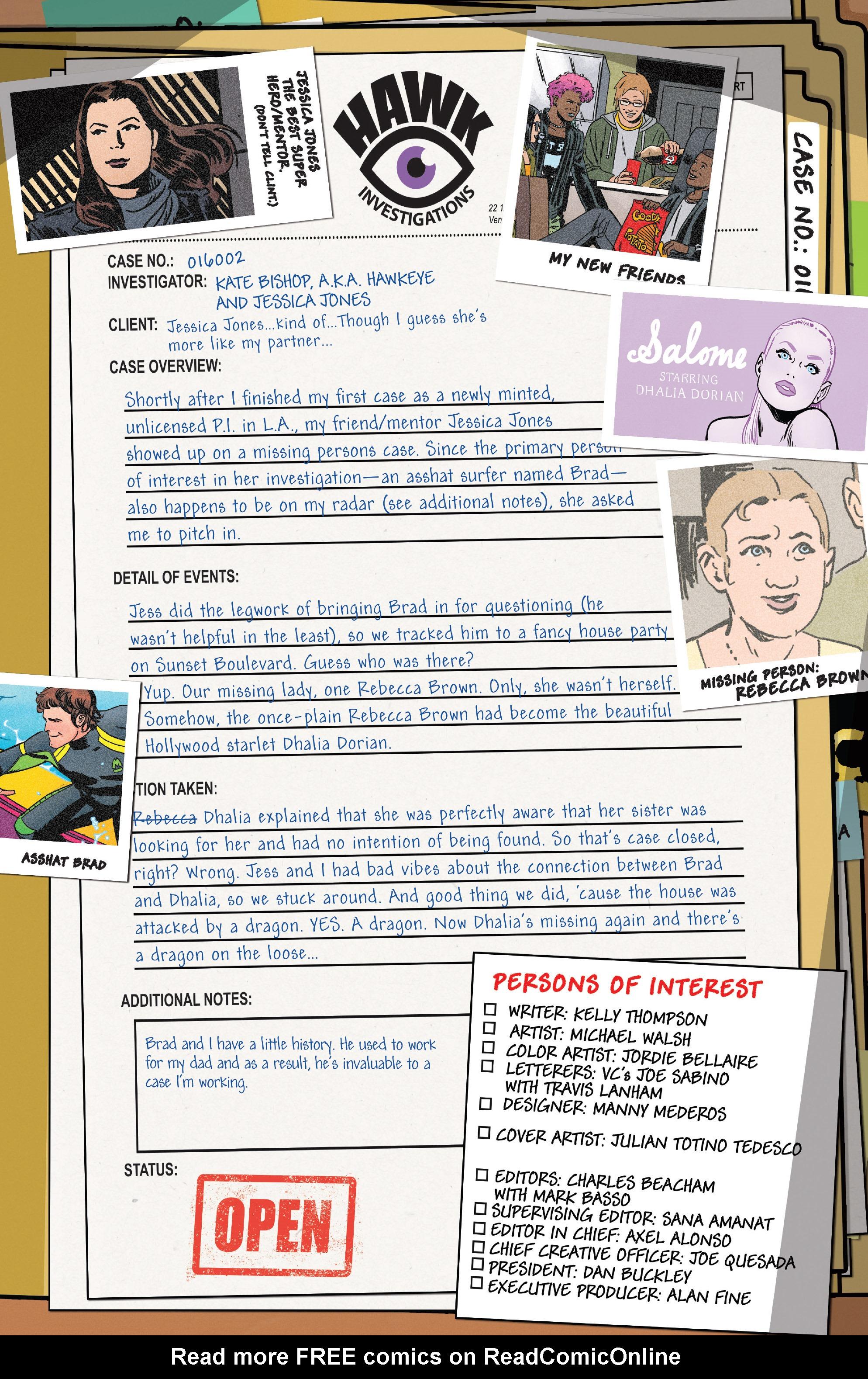 Read online Hawkeye (2016) comic -  Issue #6 - 3