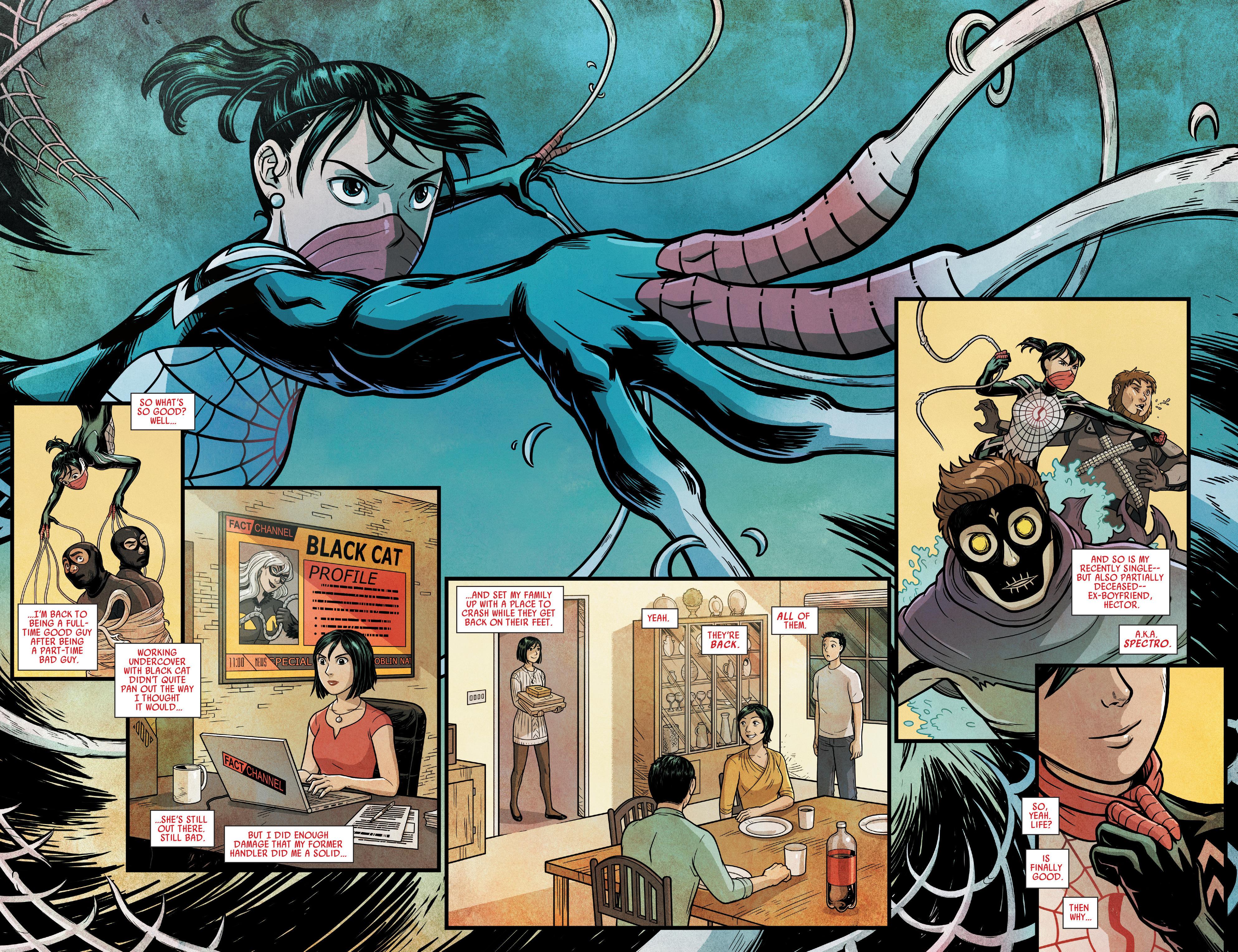 Read online Silk (2016) comic -  Issue #14 - 4