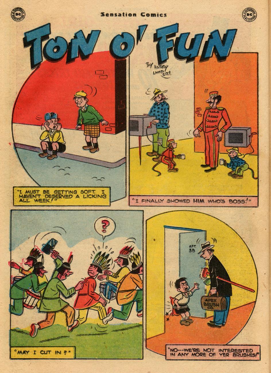 Read online Sensation (Mystery) Comics comic -  Issue #61 - 32