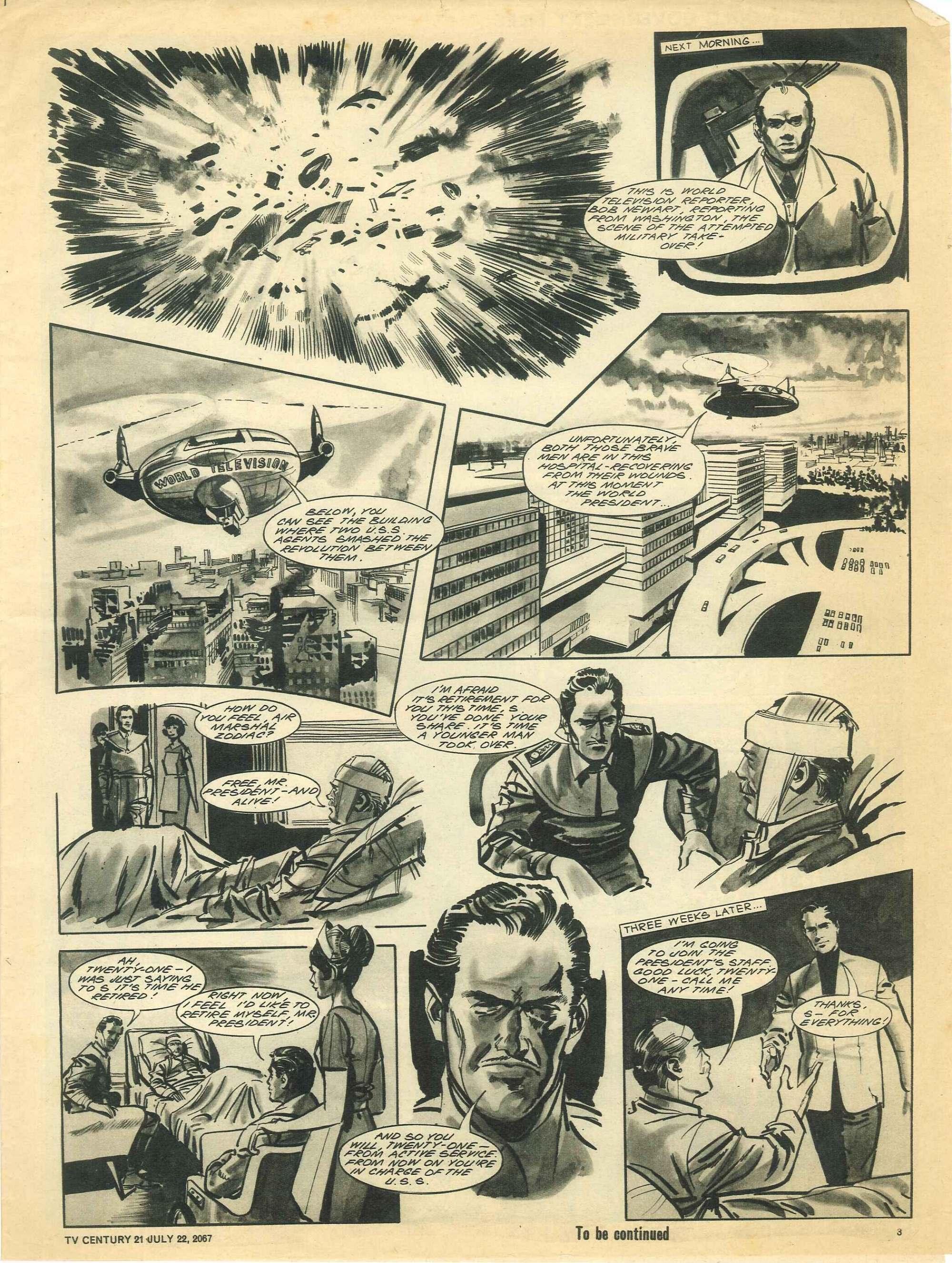 Read online TV Century 21 (TV 21) comic -  Issue #131 - 3