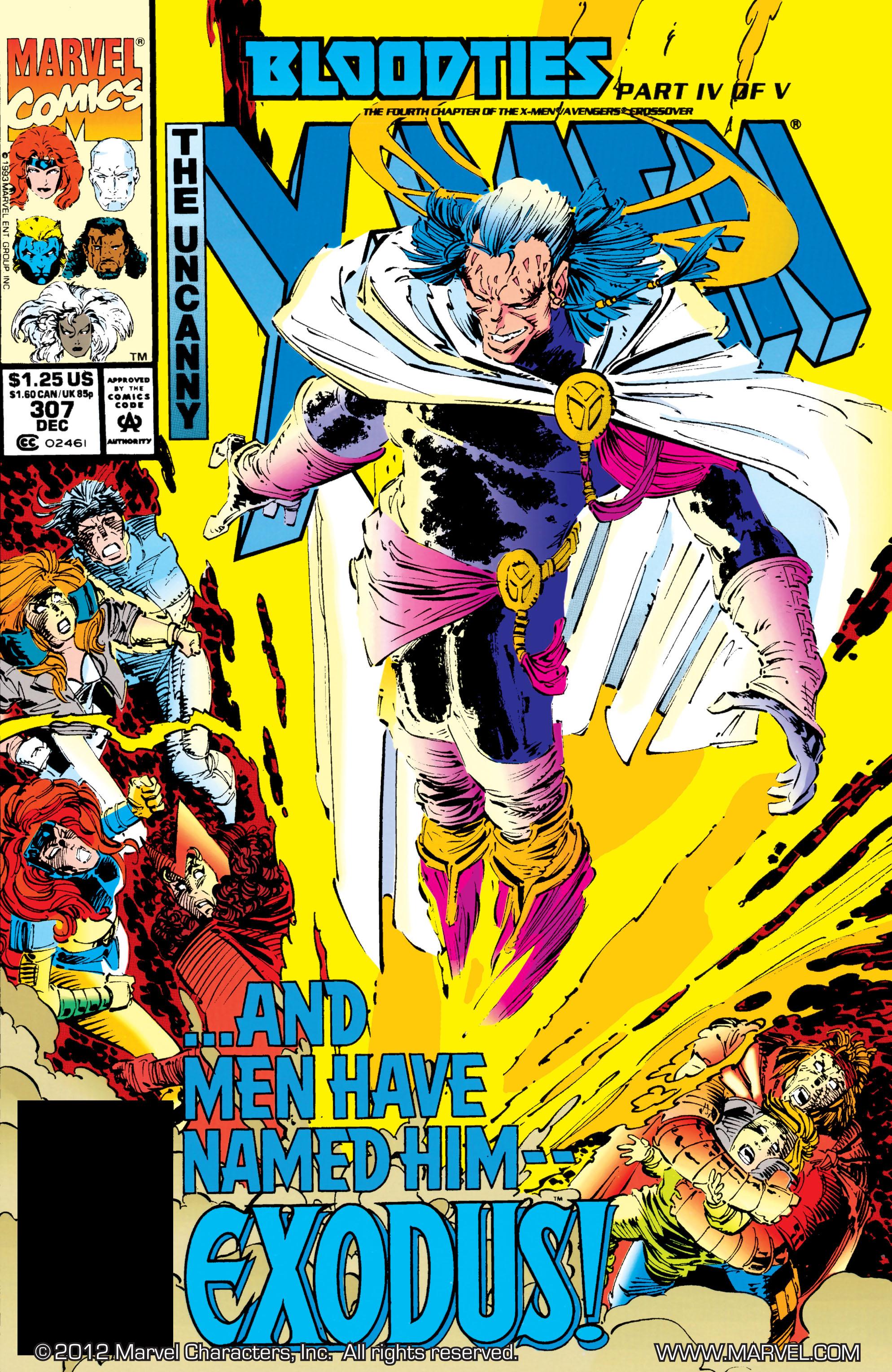 Uncanny X-Men (1963) 307 Page 1