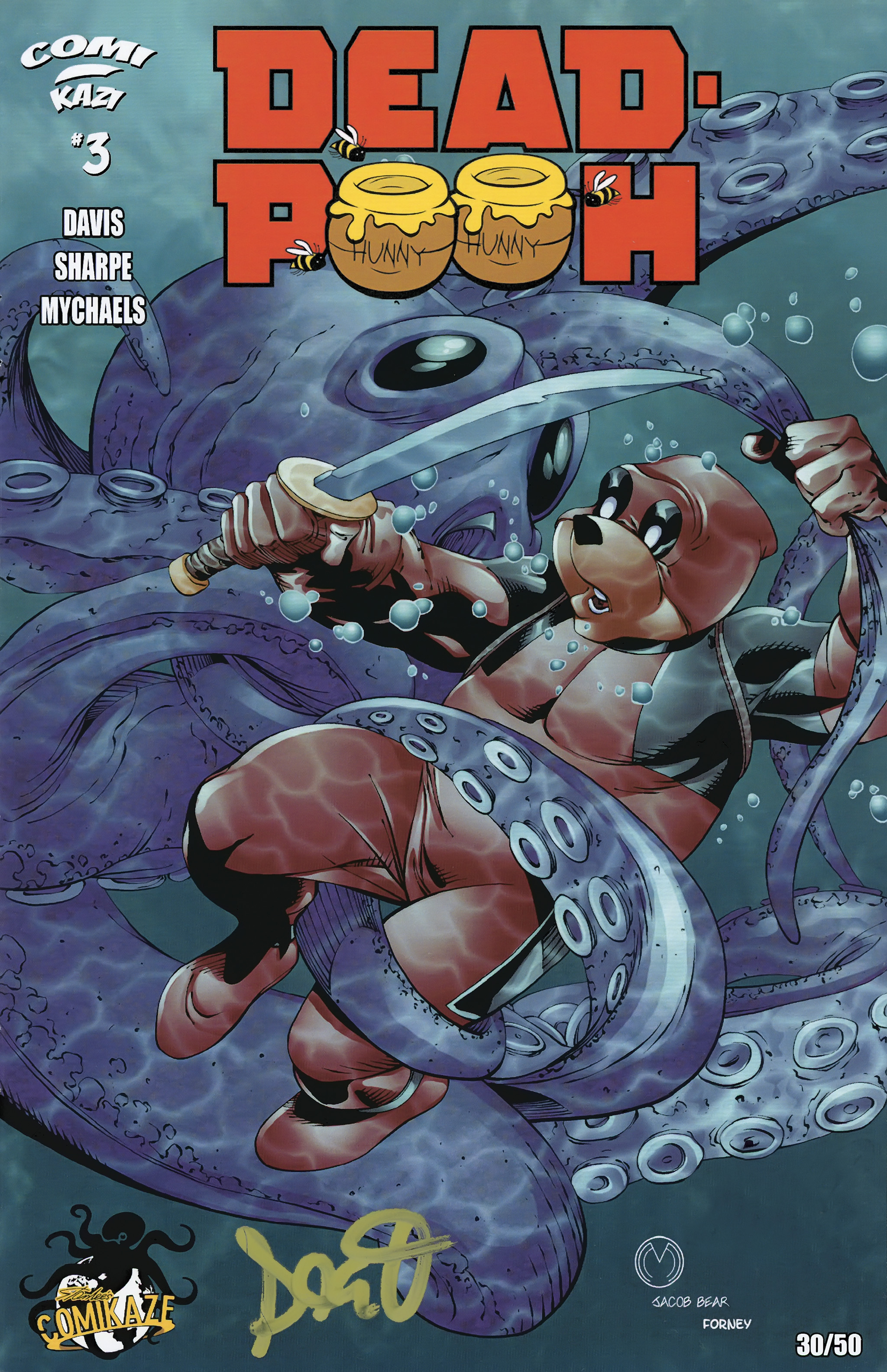 Read online Dead Pooh comic -  Issue #3 - 1