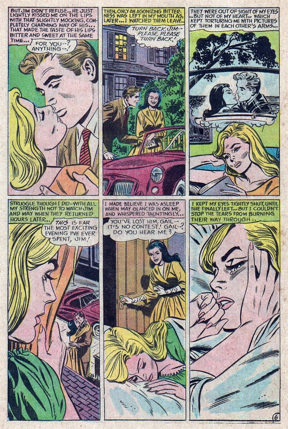 Read online Secret Hearts comic -  Issue #129 - 16