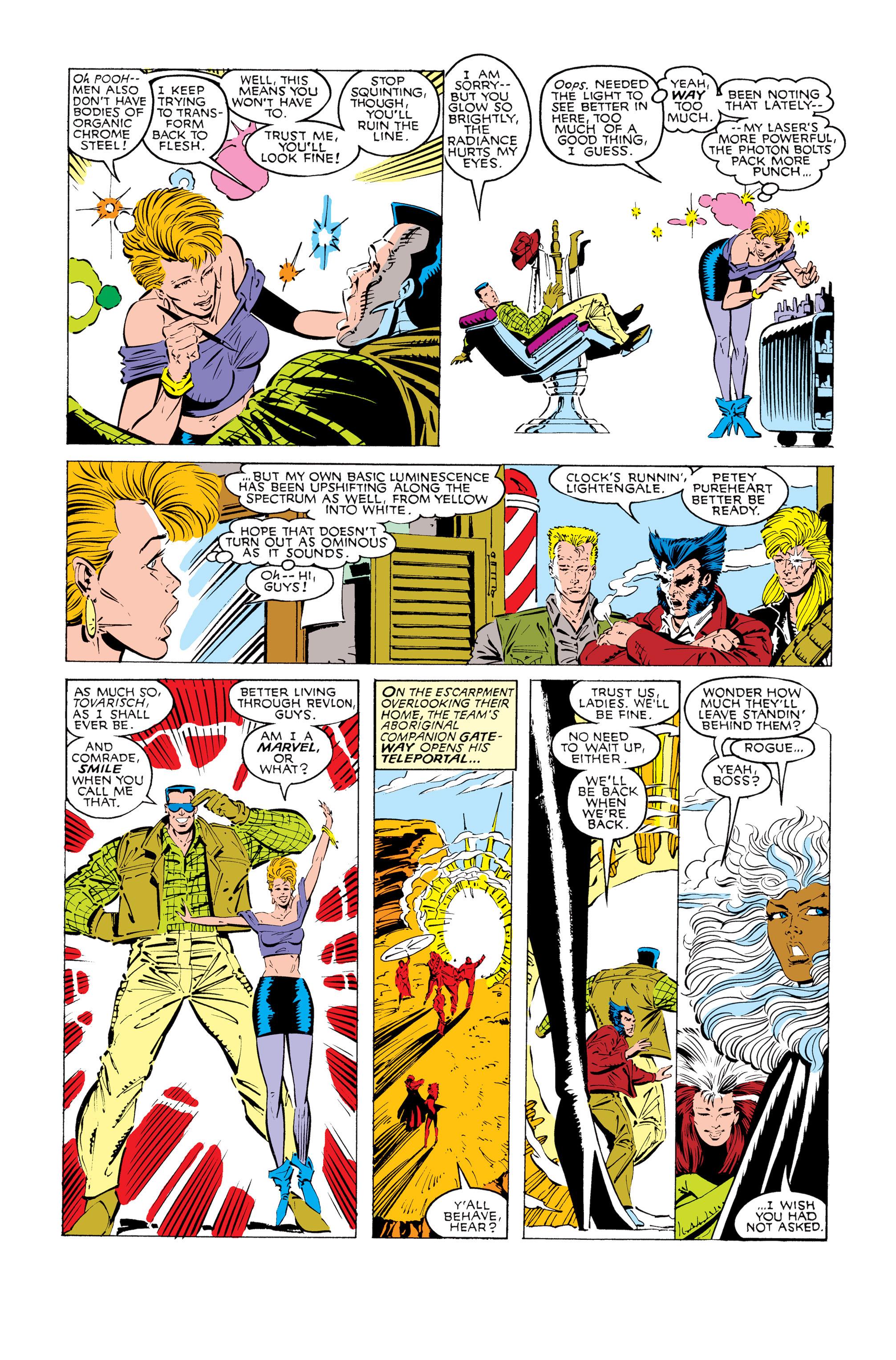 Read online Uncanny X-Men (1963) comic -  Issue #245 - 7