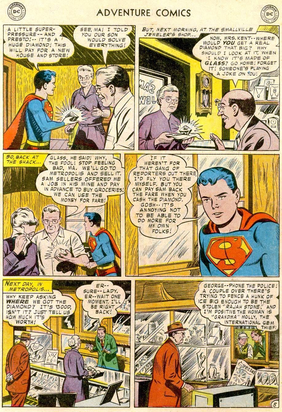 Read online Adventure Comics (1938) comic -  Issue #244 - 7