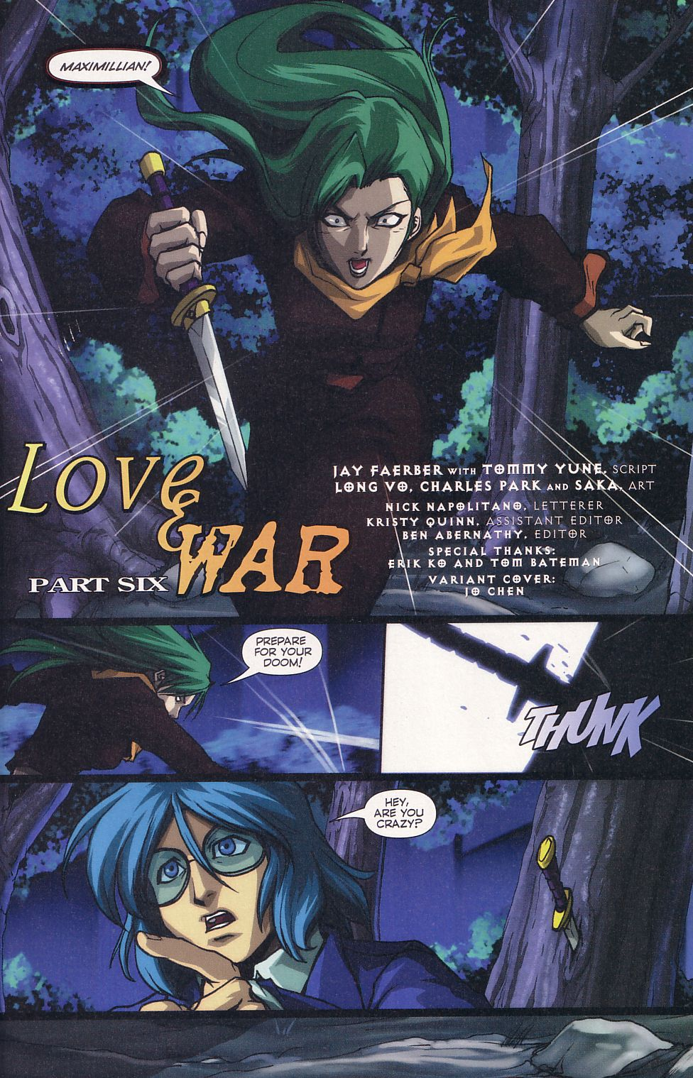 Read online Robotech: Love and War comic -  Issue #6 - 3