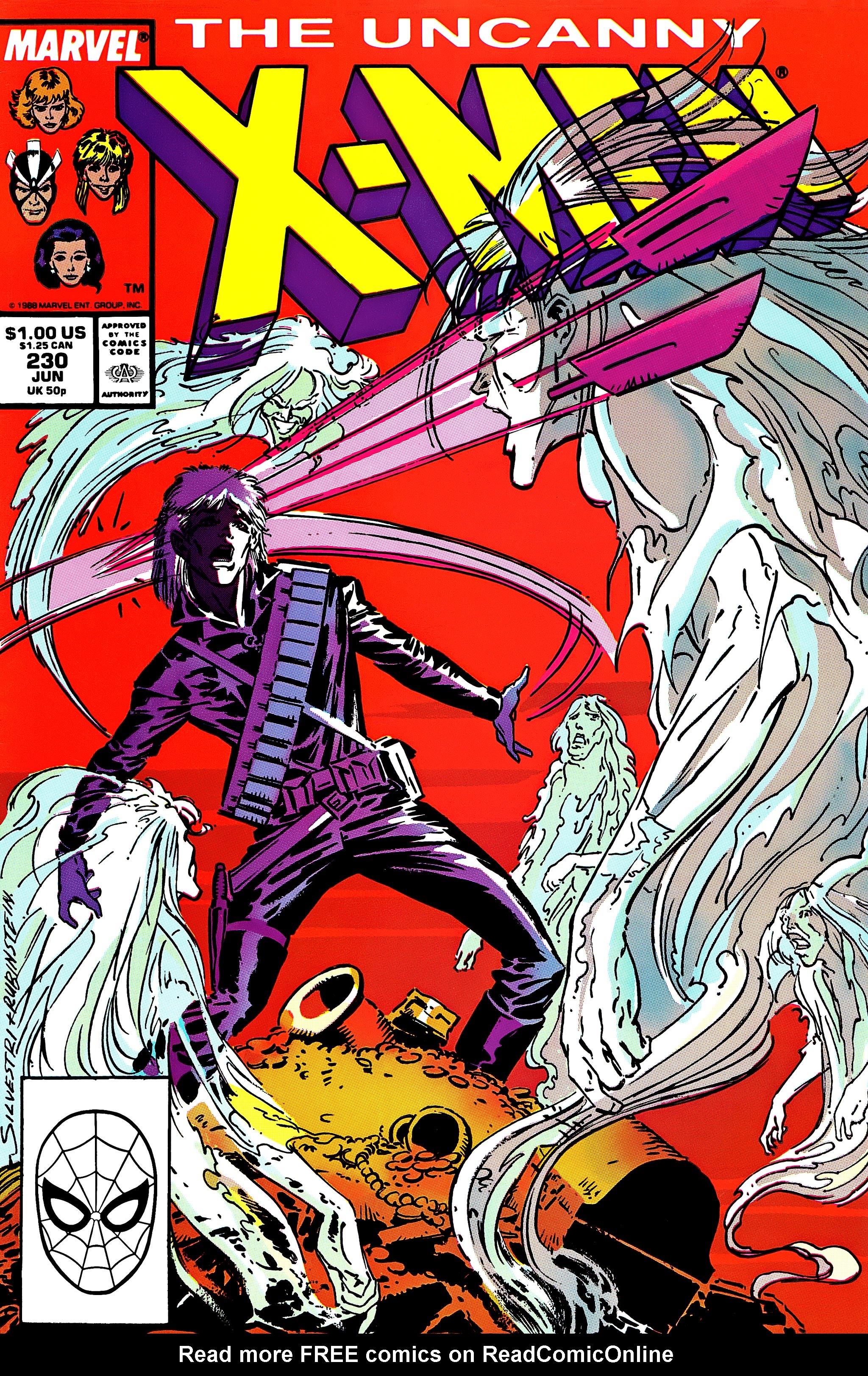 Uncanny X-Men (1963) 230 Page 1