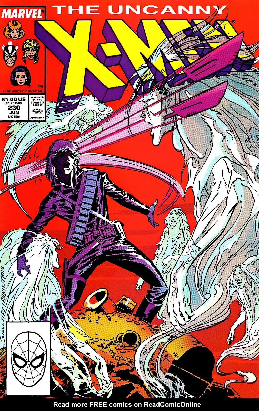 Uncanny X-Men (1963) issue 230 - Page 1