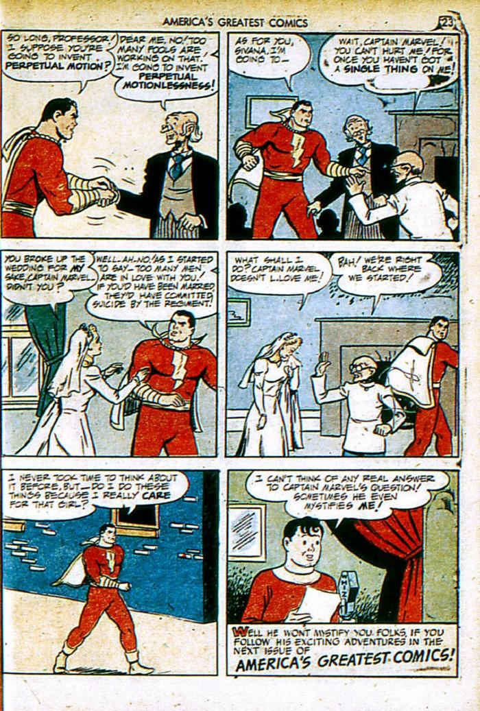 Read online America's Greatest Comics comic -  Issue #4 - 23