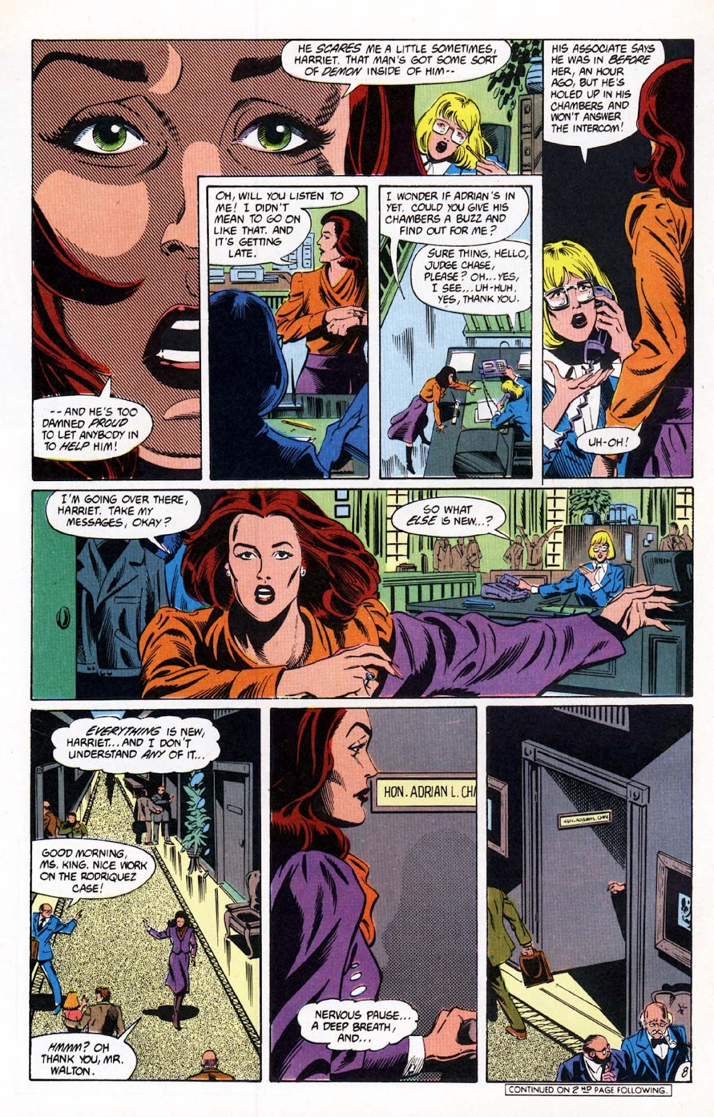 Vigilante (1983) issue 20 - Page 9