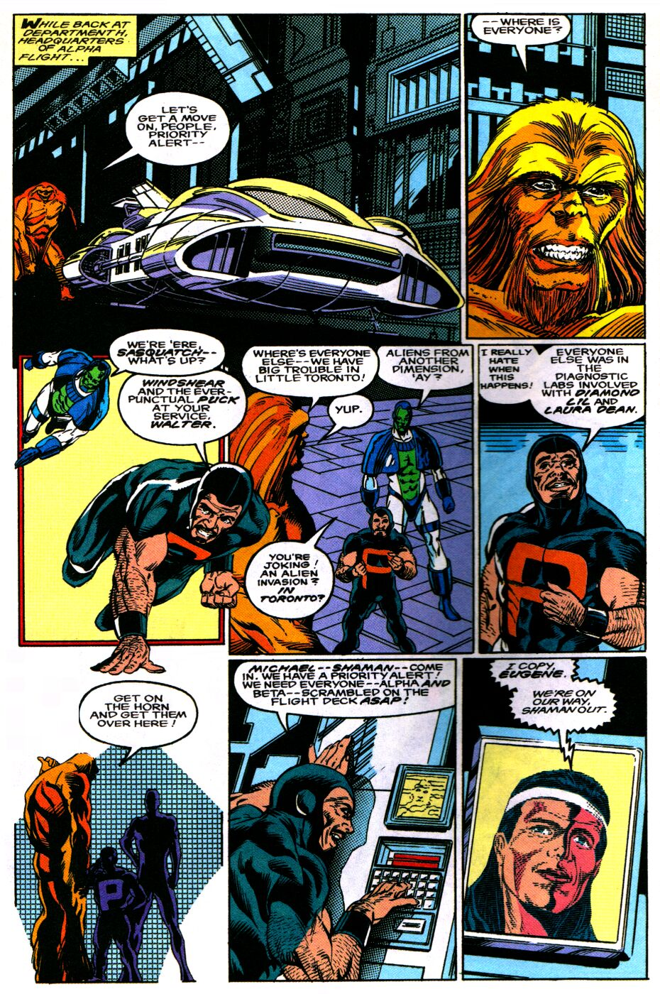 Read online Alpha Flight Special comic -  Issue #2 - 6